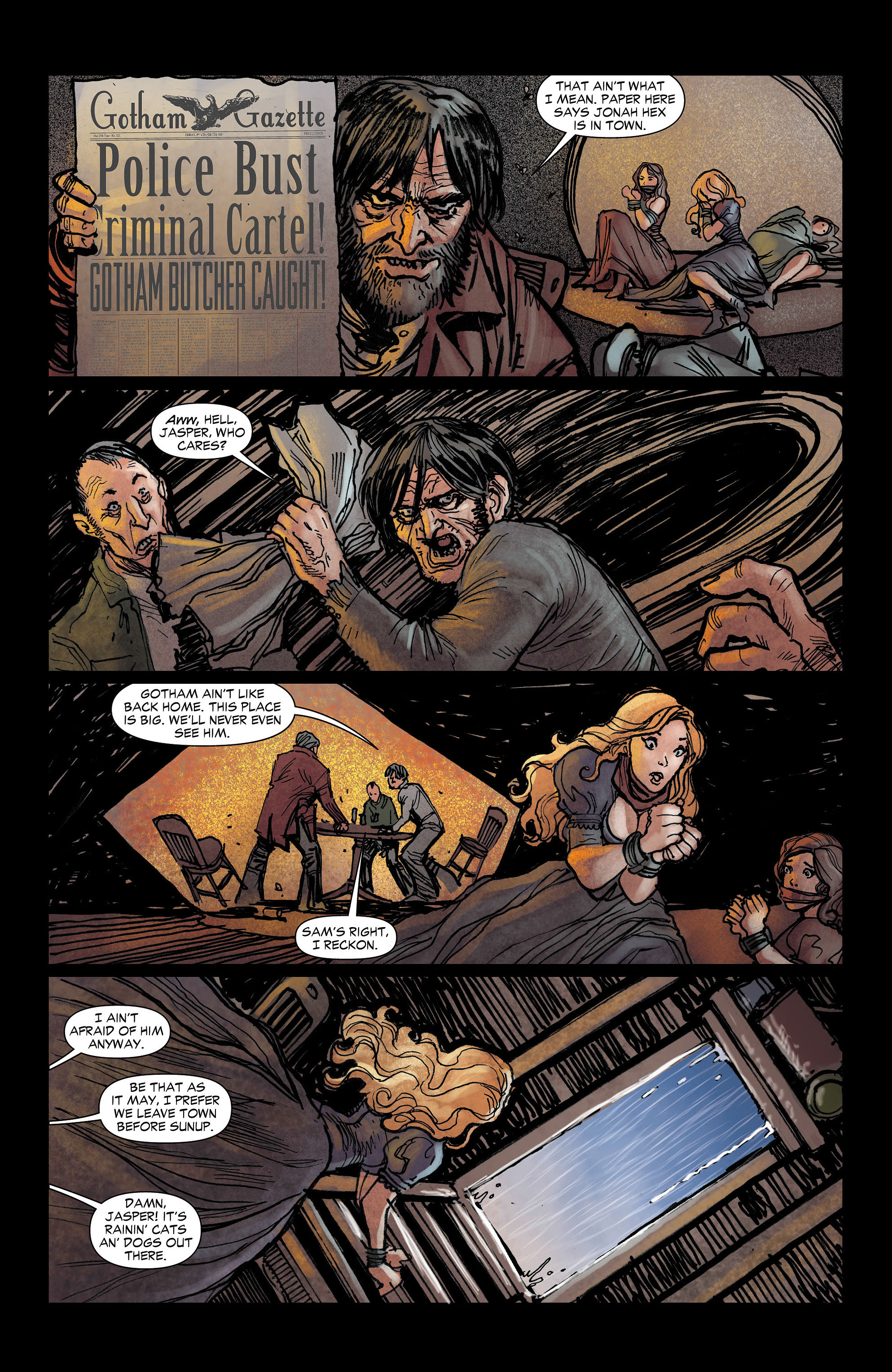 Read online All-Star Western (2011) comic -  Issue #3 - 17
