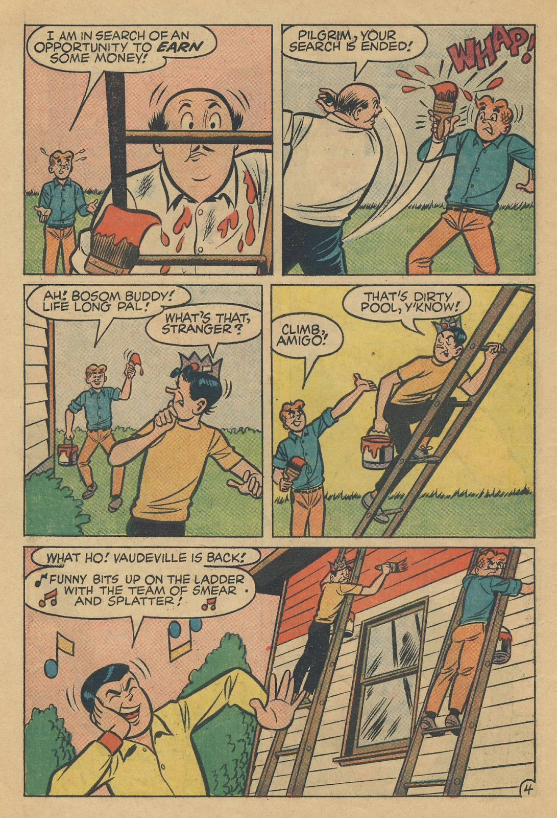 Read online Archie (1960) comic -  Issue #170 - 6