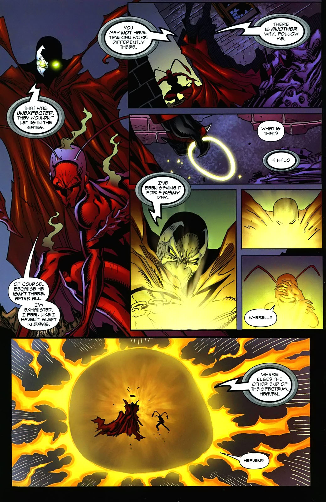 Read online Ant comic -  Issue #3 - 22