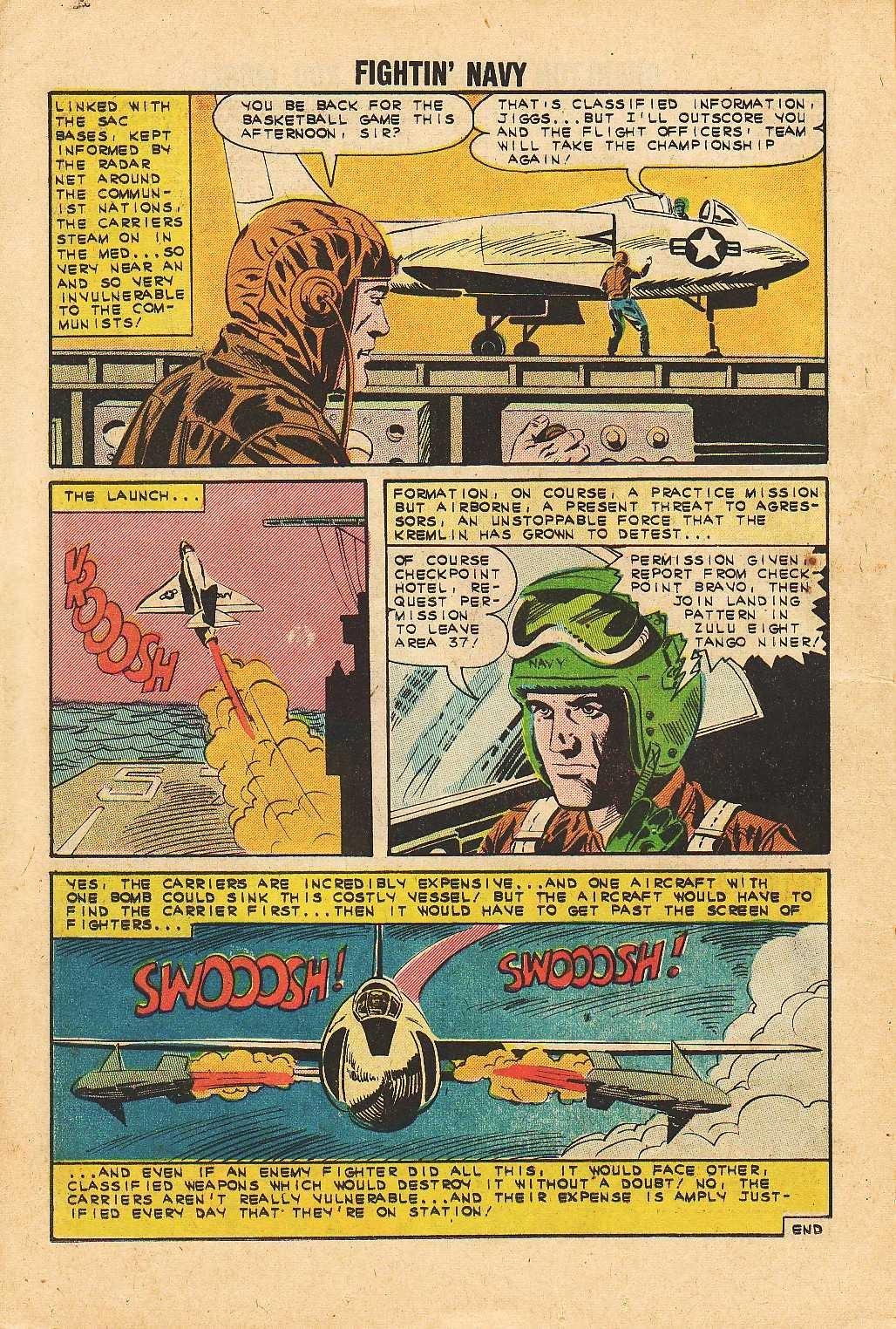 Read online Fightin' Navy comic -  Issue #113 - 14