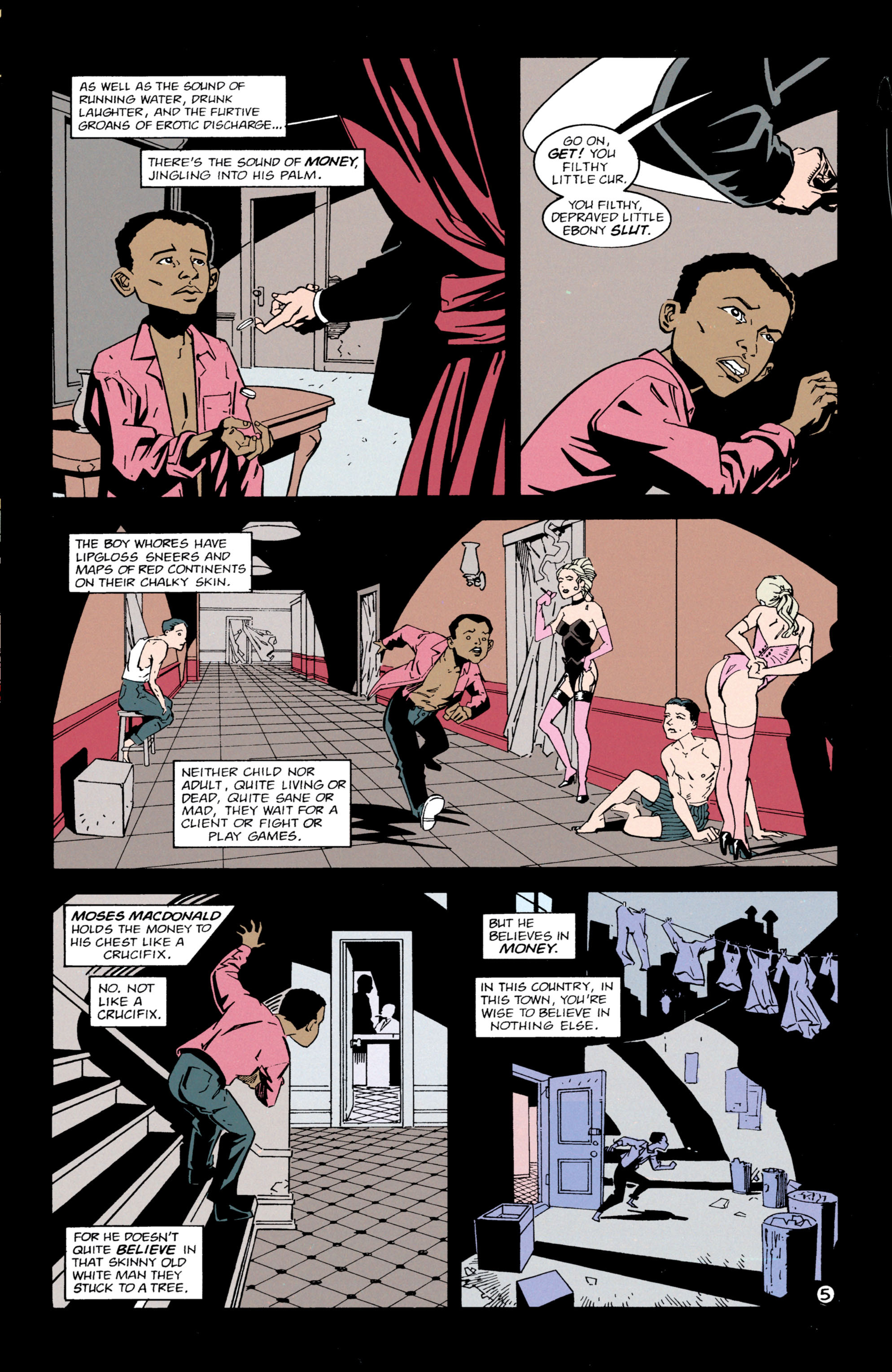 Read online Shade, the Changing Man comic -  Issue #63 - 6