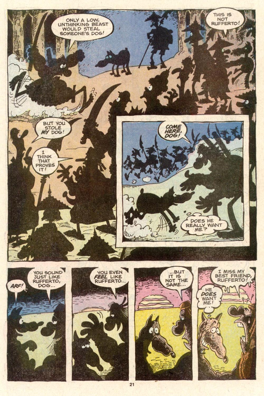 Read online Sergio Aragonés Groo the Wanderer comic -  Issue #39 - 22