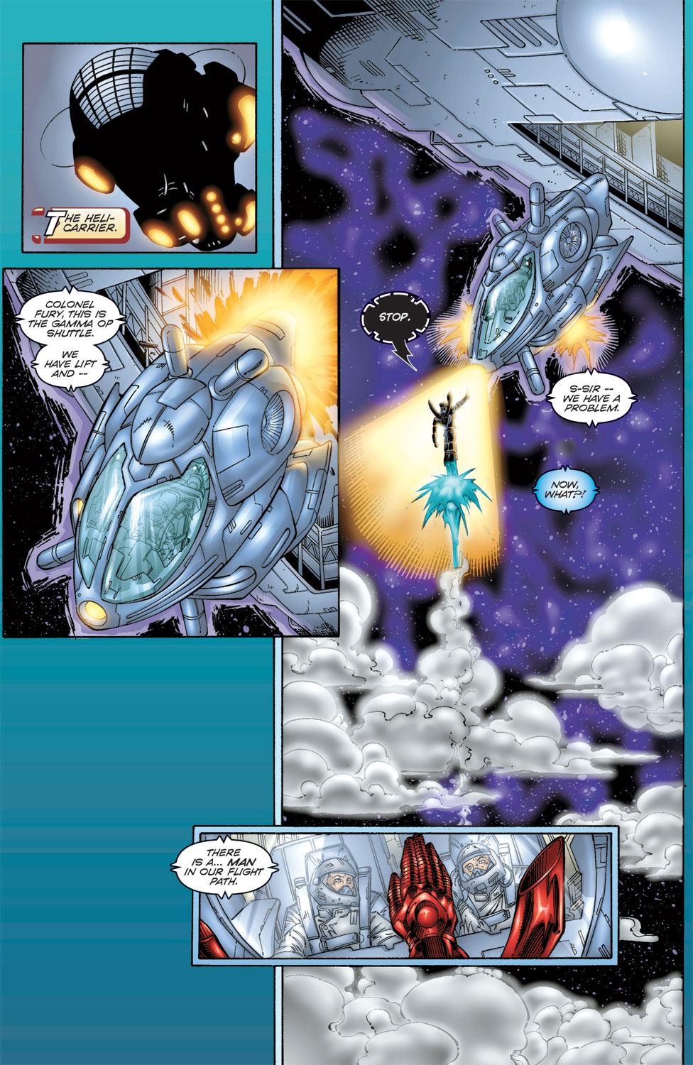 Read online Avengers (1996) comic -  Issue #6 - 12