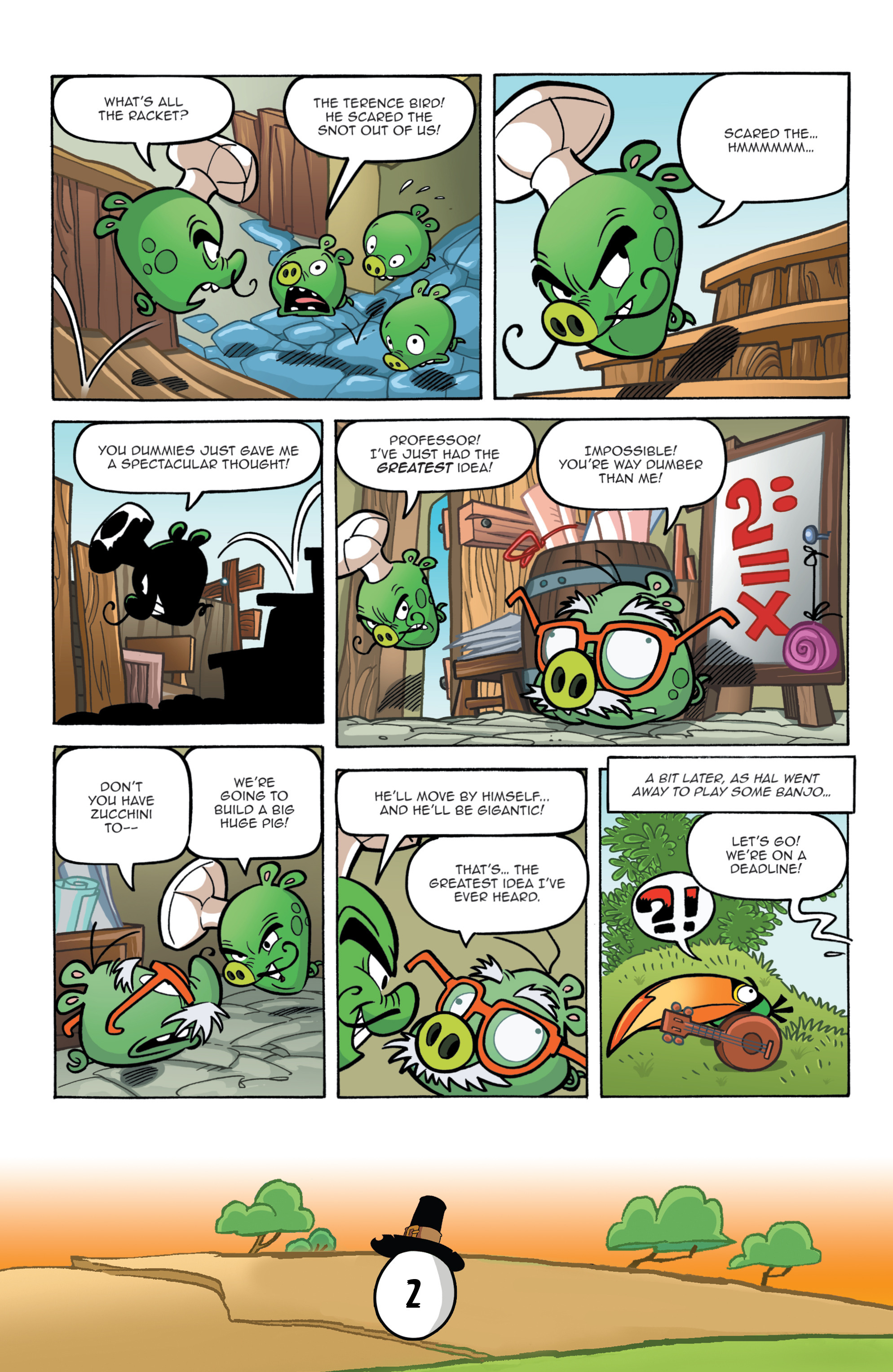 Read online Angry Birds Comics (2016) comic -  Issue #11 - 4