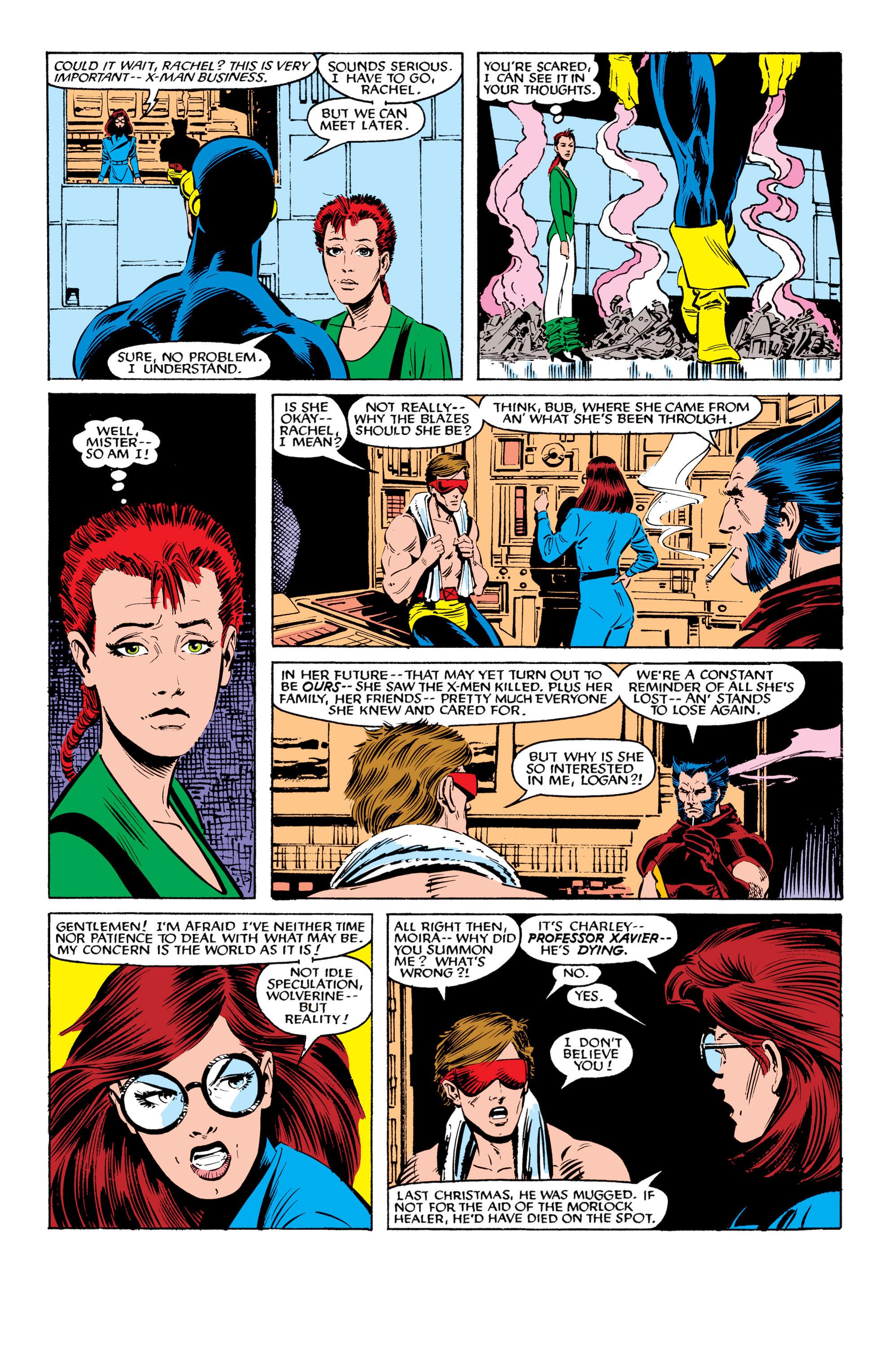 Read online Uncanny X-Men (1963) comic -  Issue #199 - 4