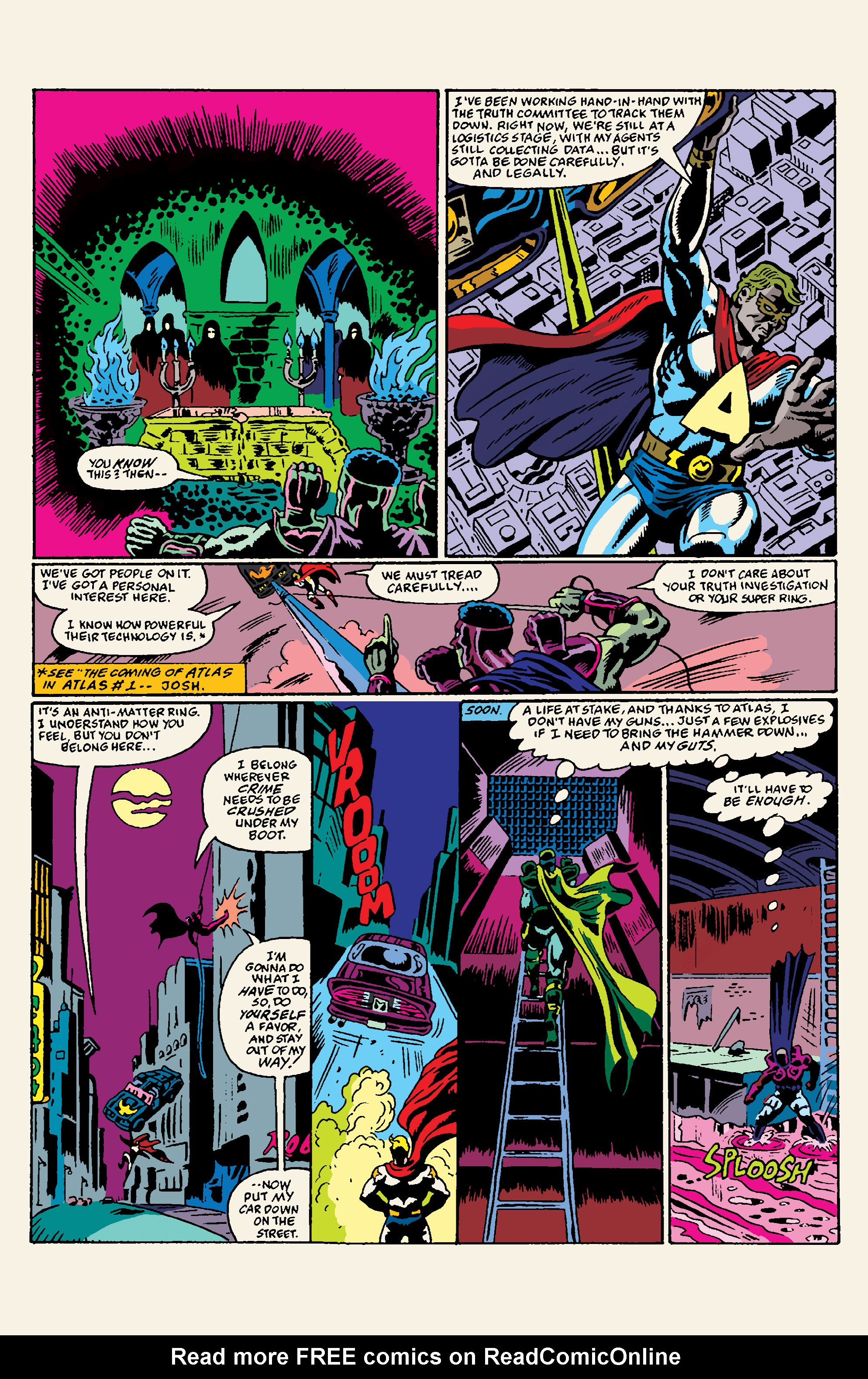 Read online All Time Comics: Crime Destroyer comic -  Issue #1 - 11