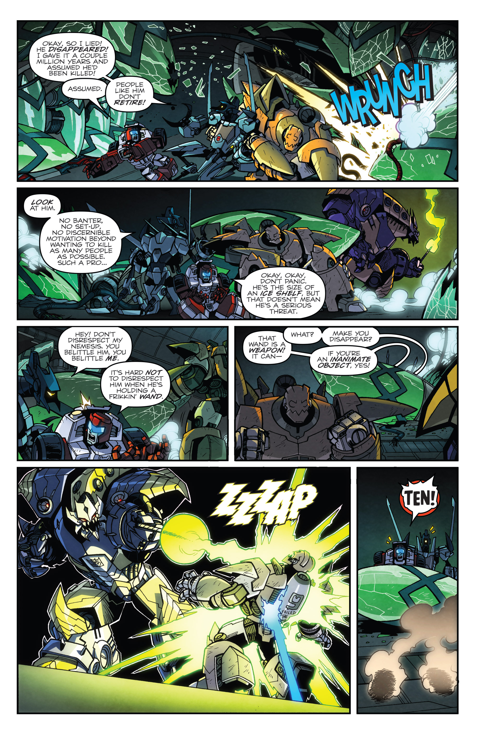 Read online Transformers: Lost Light comic -  Issue #3 - 9