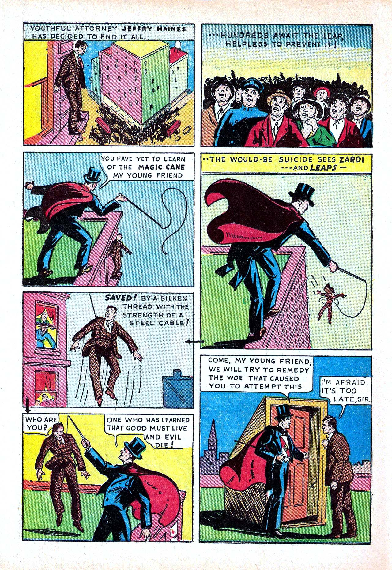 Read online Amazing Man Comics comic -  Issue #11 - 40