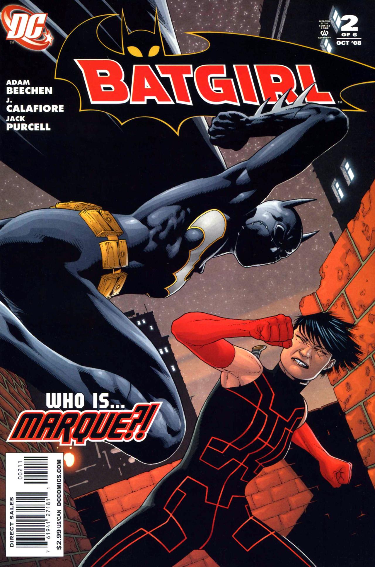 Batgirl (2008) 2 Page 1