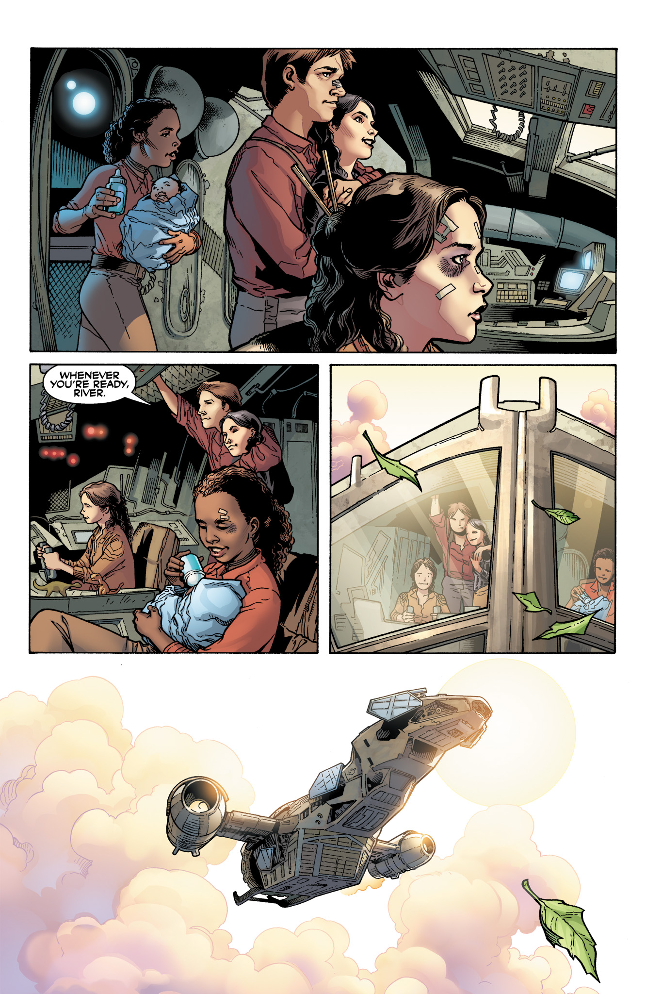 Read online Serenity: Firefly Class 03-K64  Leaves on the Wind comic -  Issue #6 - 27