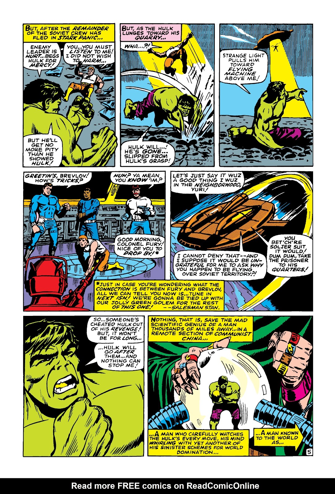 Read online Marvel Masterworks: The Incredible Hulk comic -  Issue # TPB 4 (Part 1) - 96
