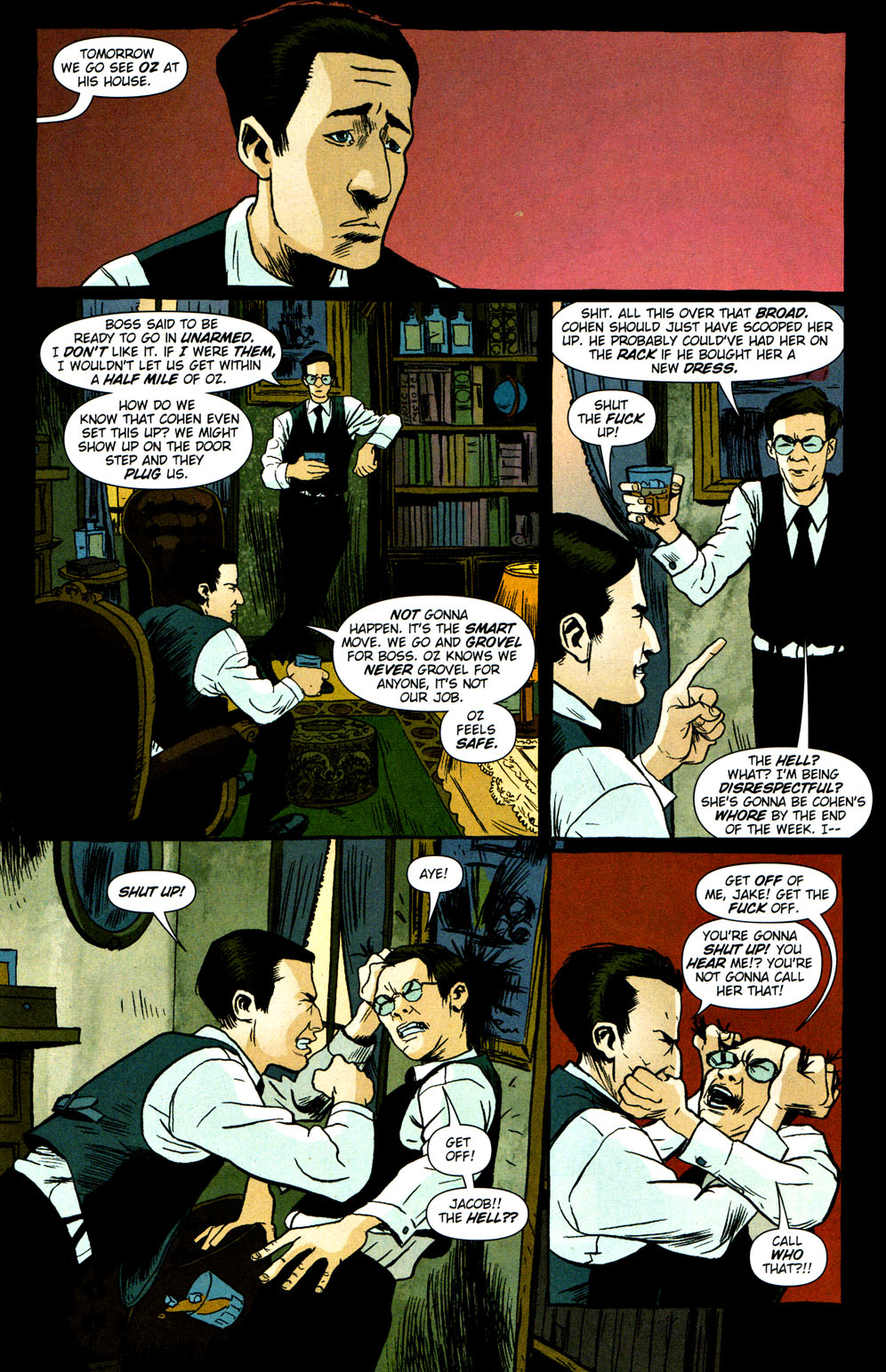Read online Caper comic -  Issue #2 - 12