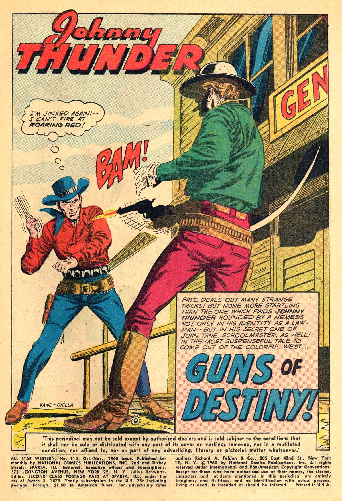Read online All-Star Western (1951) comic -  Issue #115 - 3