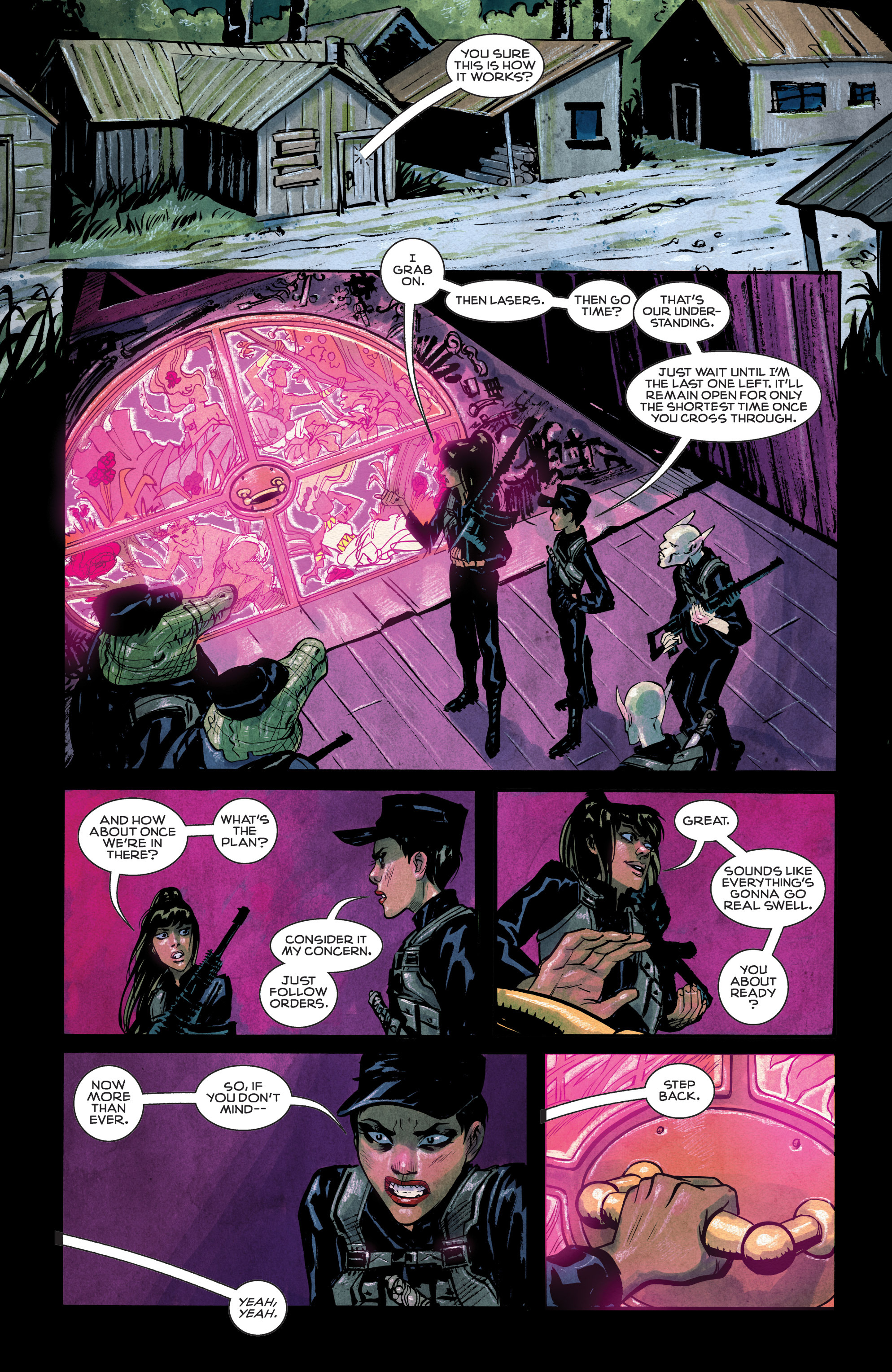 Read online Shutter comic -  Issue #9 - 17