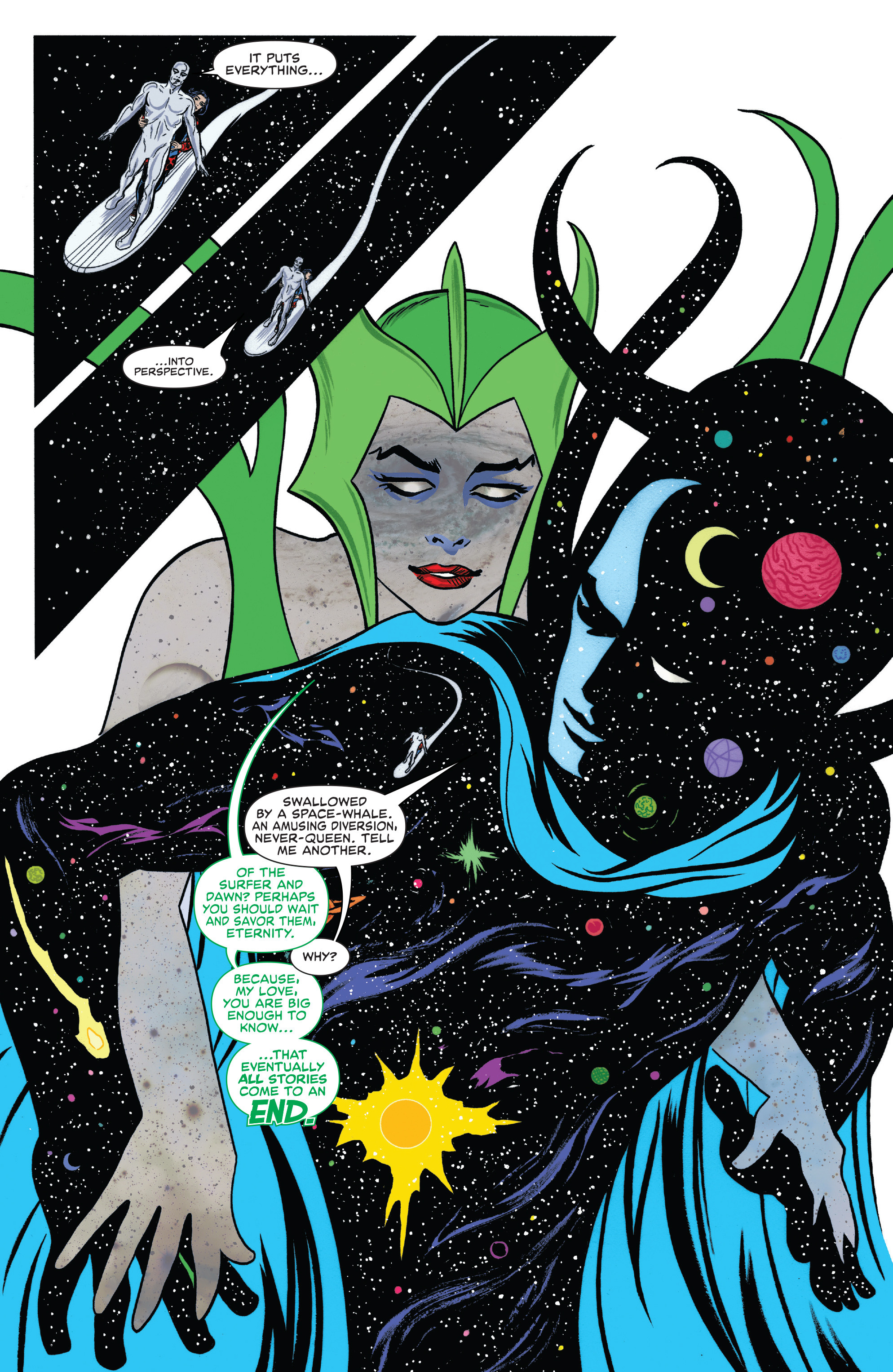 Read online Silver Surfer (2016) comic -  Issue #8 - 16
