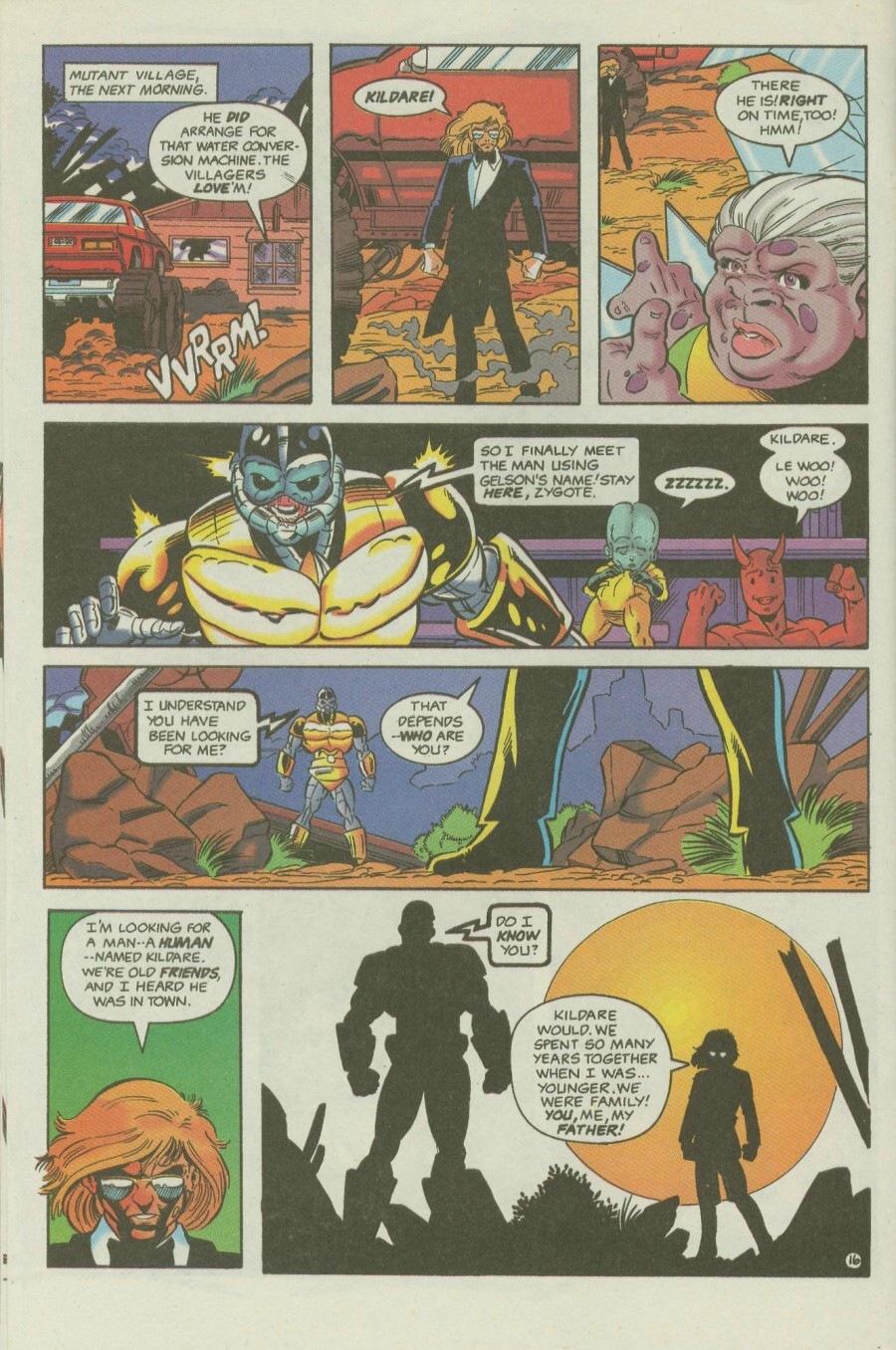 Read online Ex-Mutants comic -  Issue #6 - 20