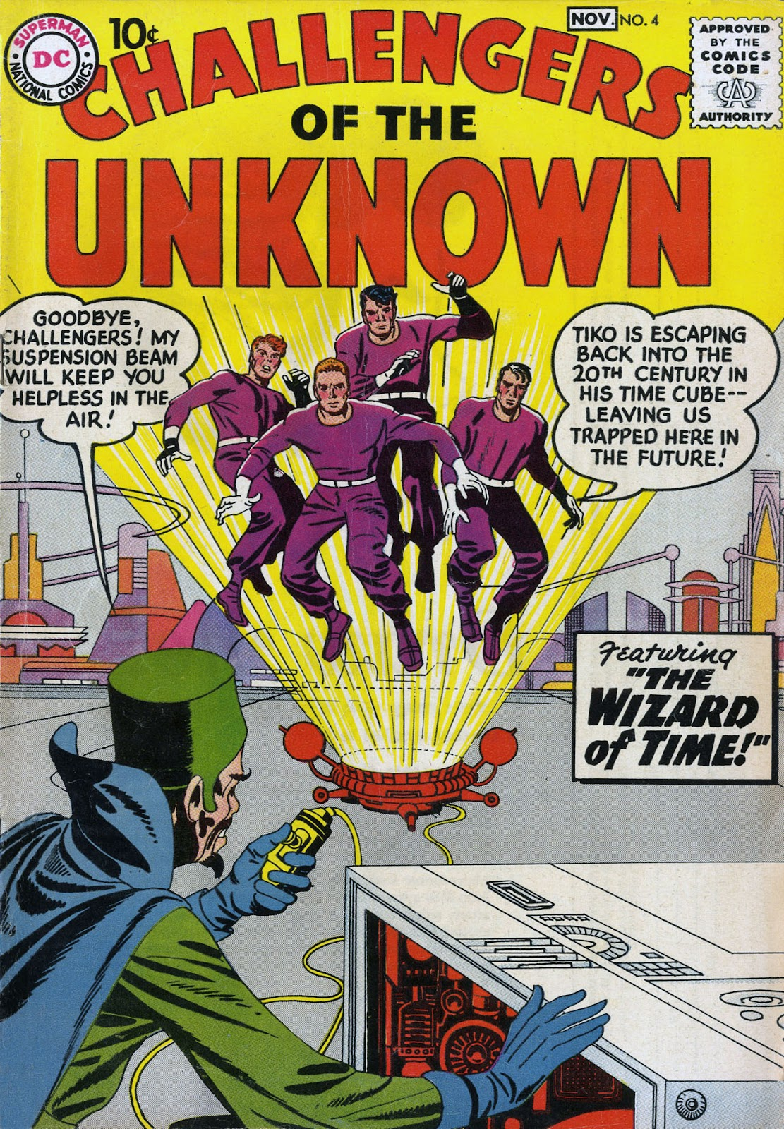 Challengers of the Unknown (1958) issue 4 - Page 1