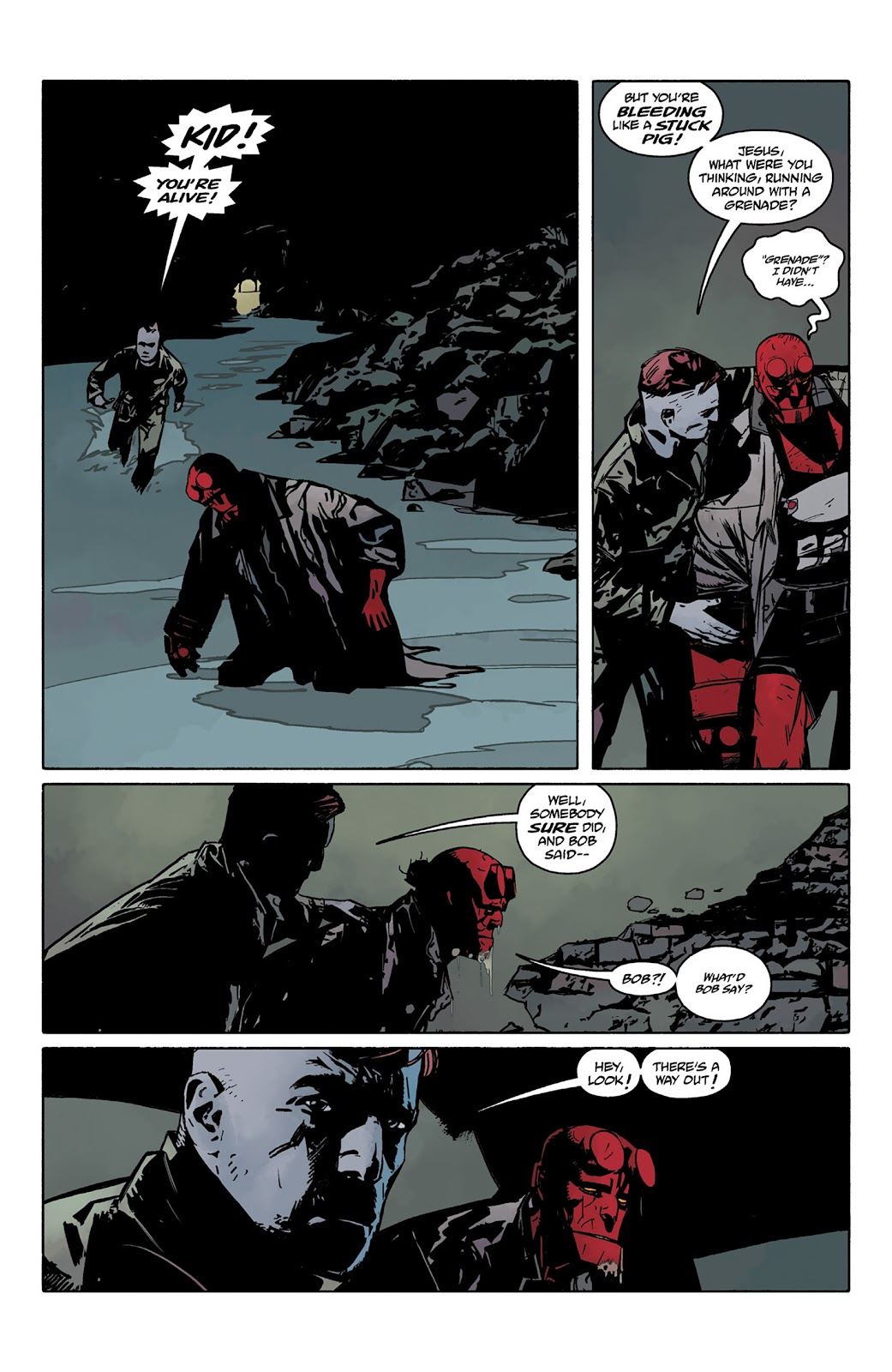 Read online Hellboy and the B.P.R.D. comic -  Issue # _TPB - 75