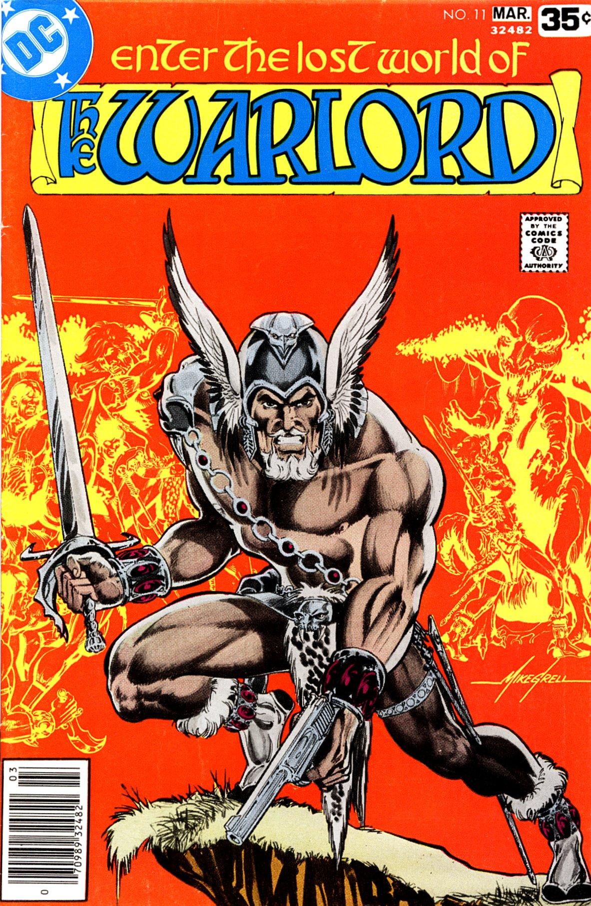 Warlord (1976) 11 Page 1