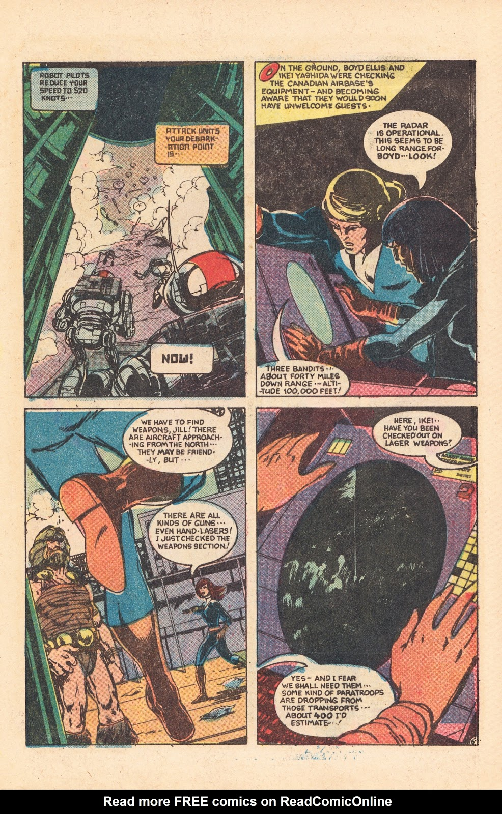 Read online Doomsday   1 (1975) comic -  Issue #8 - 9
