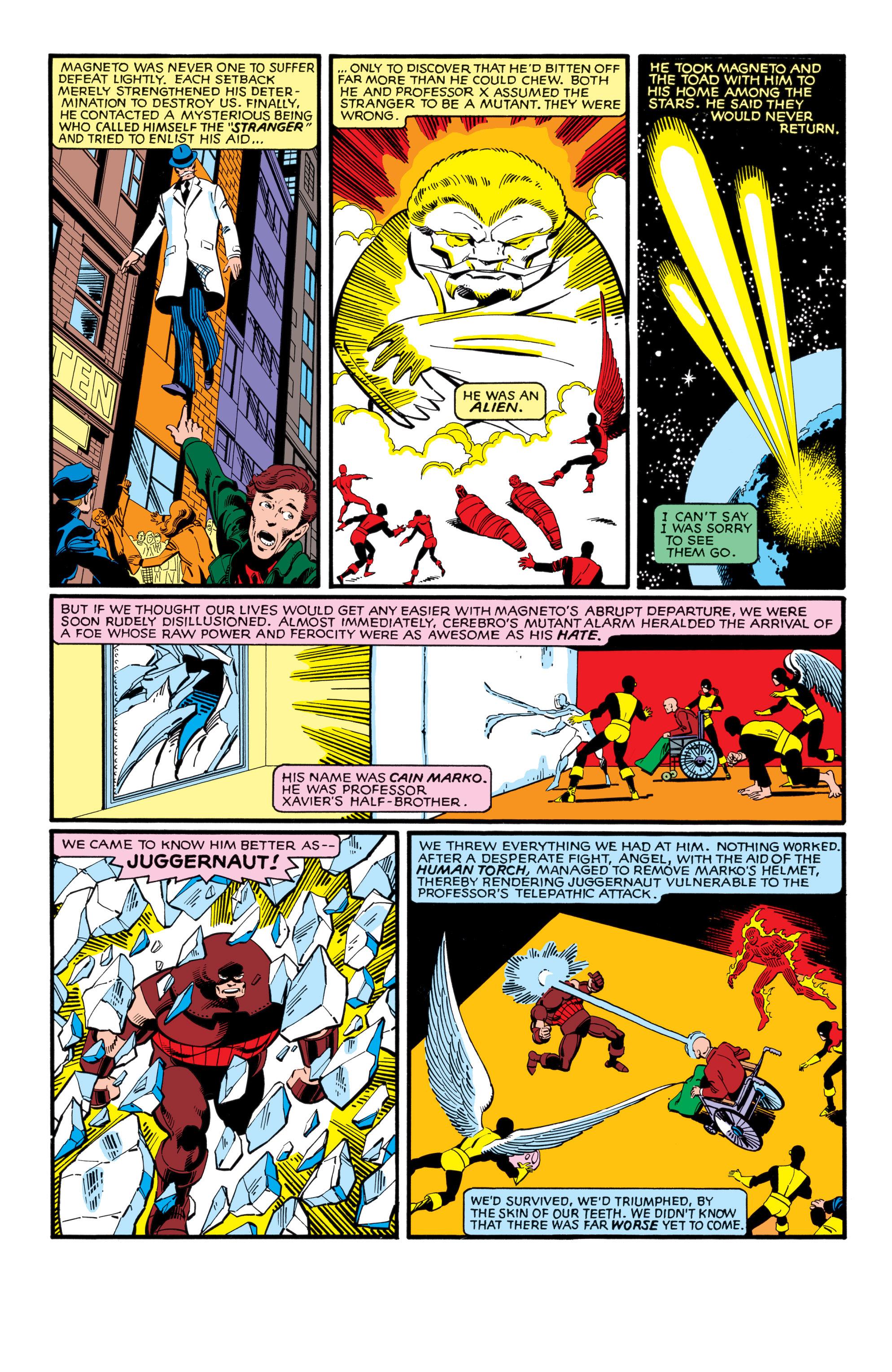 Read online Uncanny X-Men (1963) comic -  Issue #138 - 6