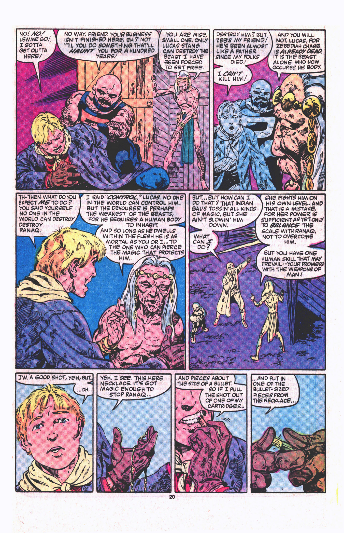 Read online Alpha Flight (1983) comic -  Issue #19 - 21