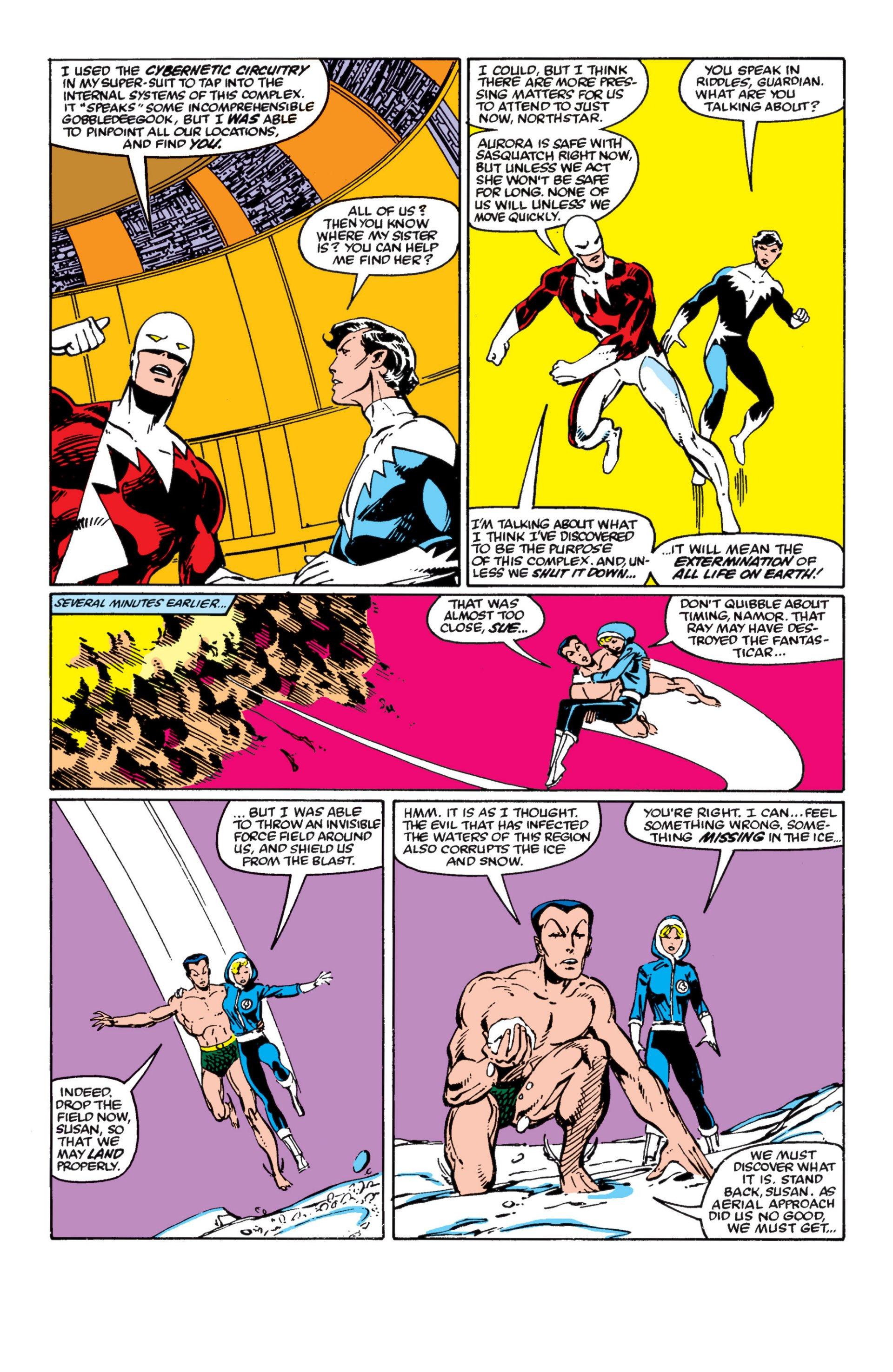 Read online Alpha Flight (1983) comic -  Issue #4 - 10