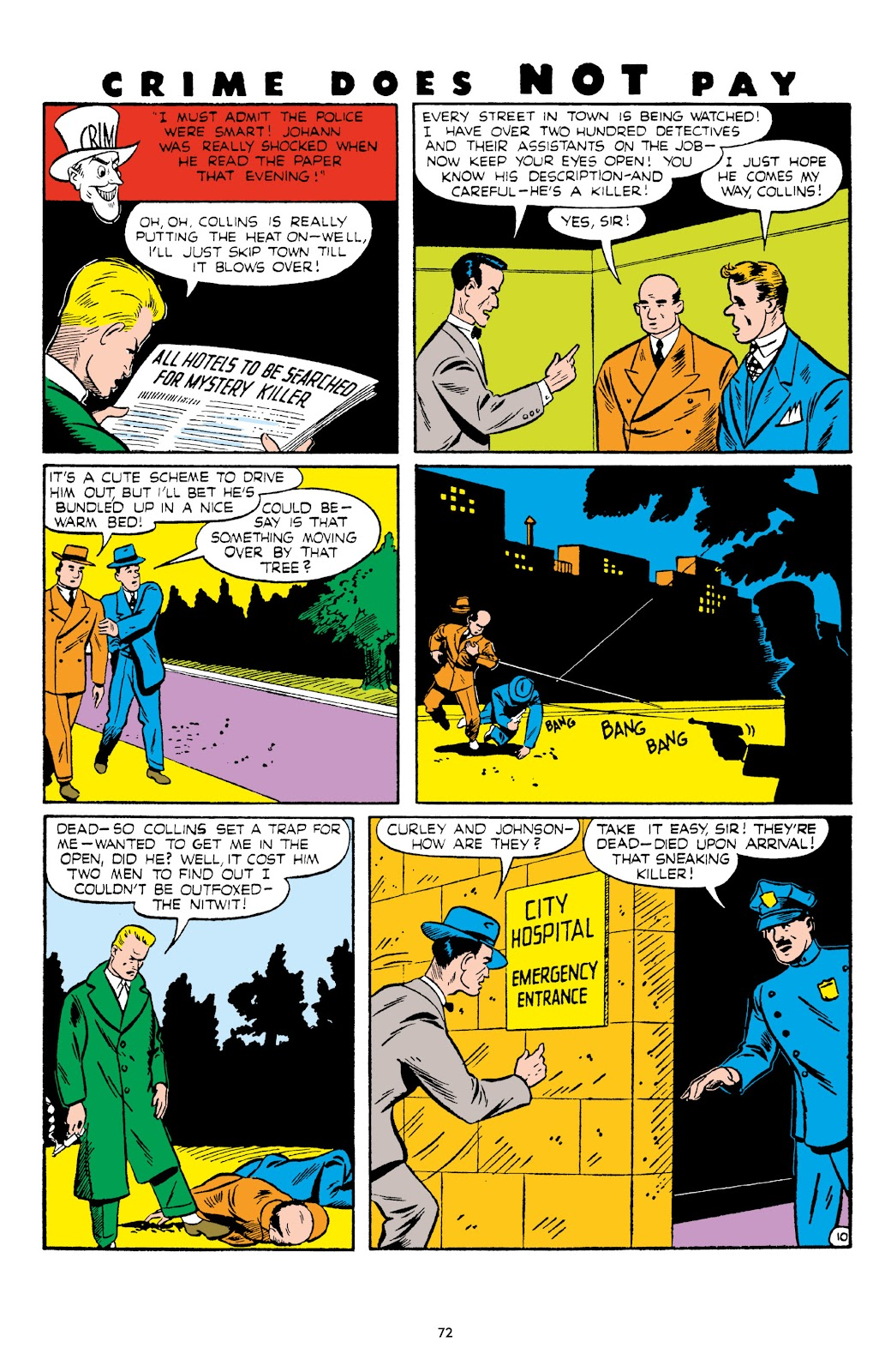 Read online Crime Does Not Pay Archives comic -  Issue # TPB 6 (Part 1) - 74