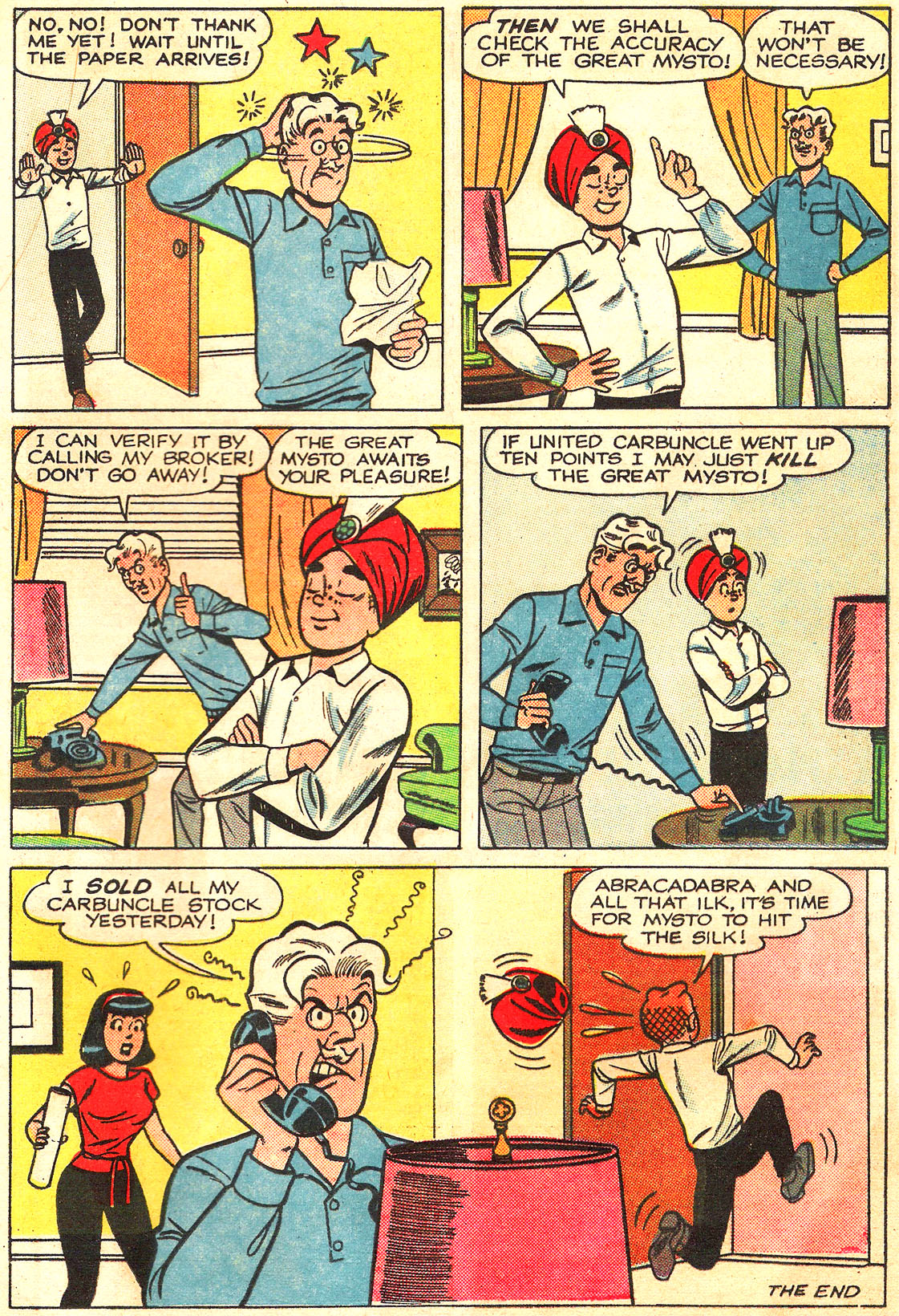 Read online Archie (1960) comic -  Issue #160 - 33