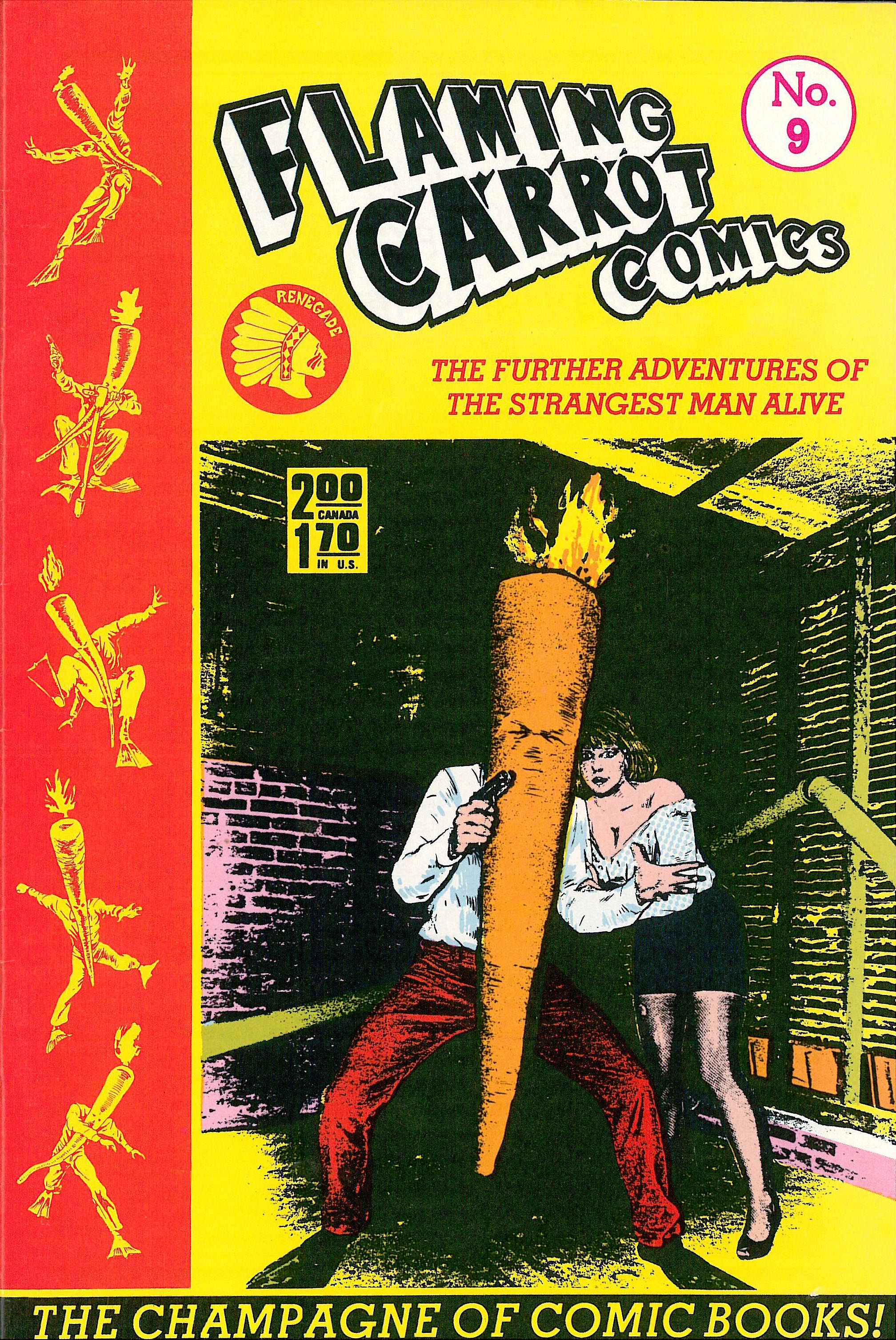 Read online Flaming Carrot Comics (1984) comic -  Issue #9 - 1