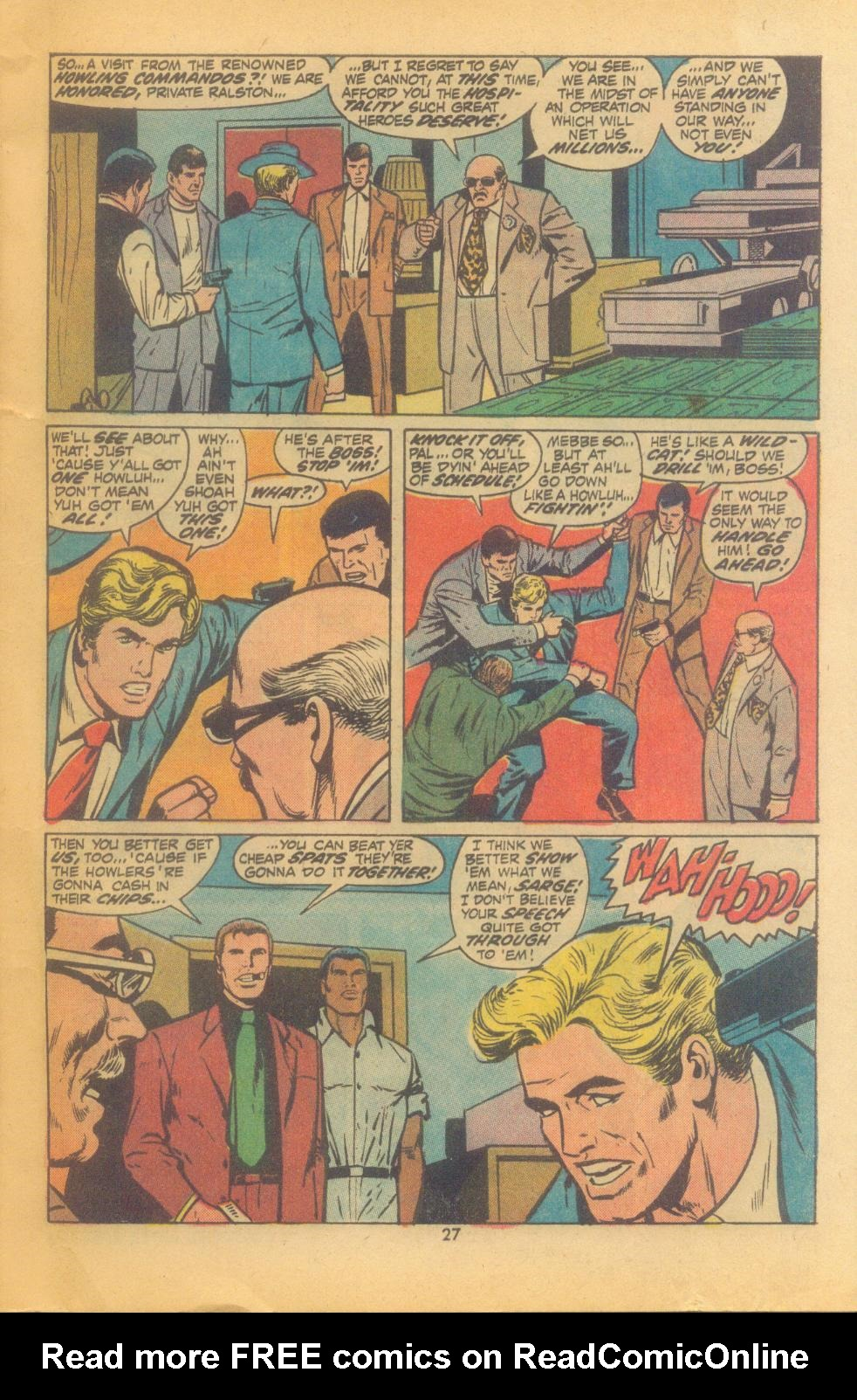 Read online Sgt. Fury comic -  Issue #102 - 29