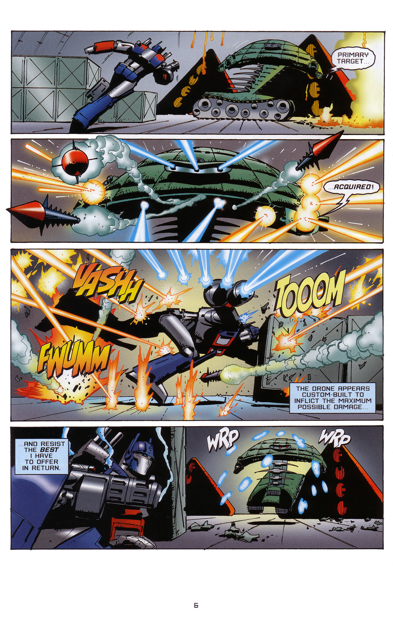 Read online Transformers: Saga of the Allspark comic -  Issue #1 - 7