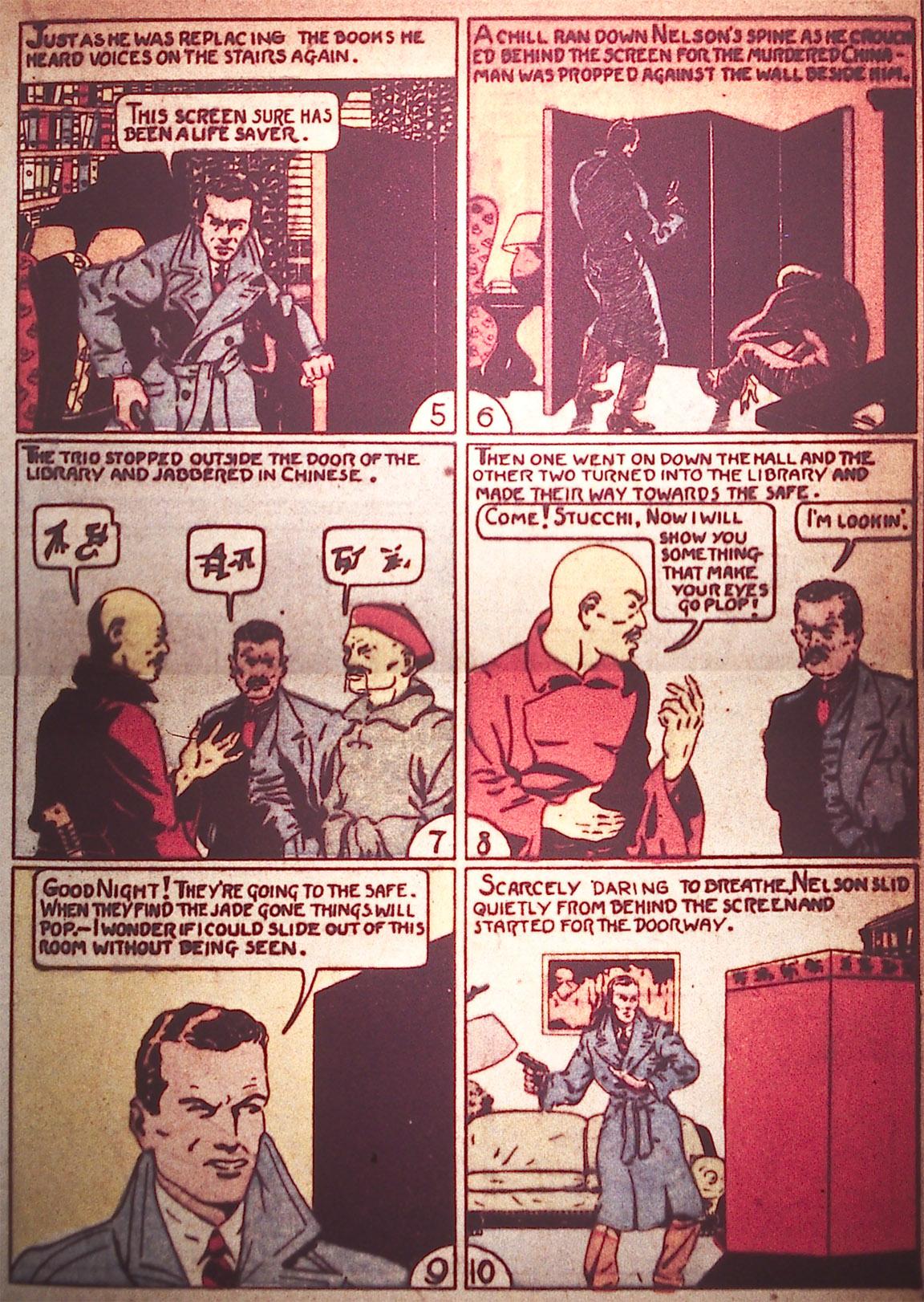 Read online Detective Comics (1937) comic -  Issue #5 - 23