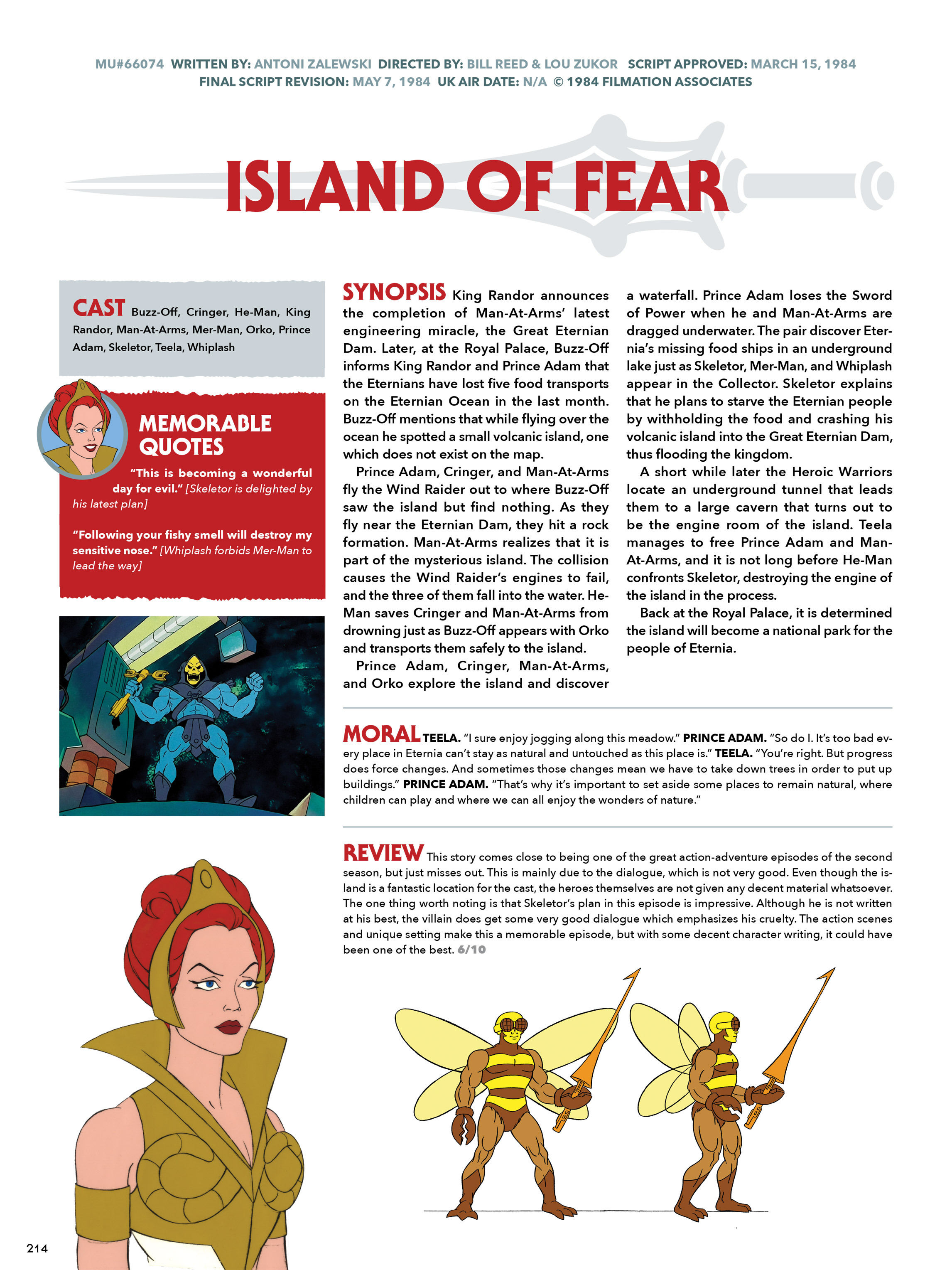Read online He-Man and She-Ra: A Complete Guide to the Classic Animated Adventures comic -  Issue # TPB (Part 2) - 15