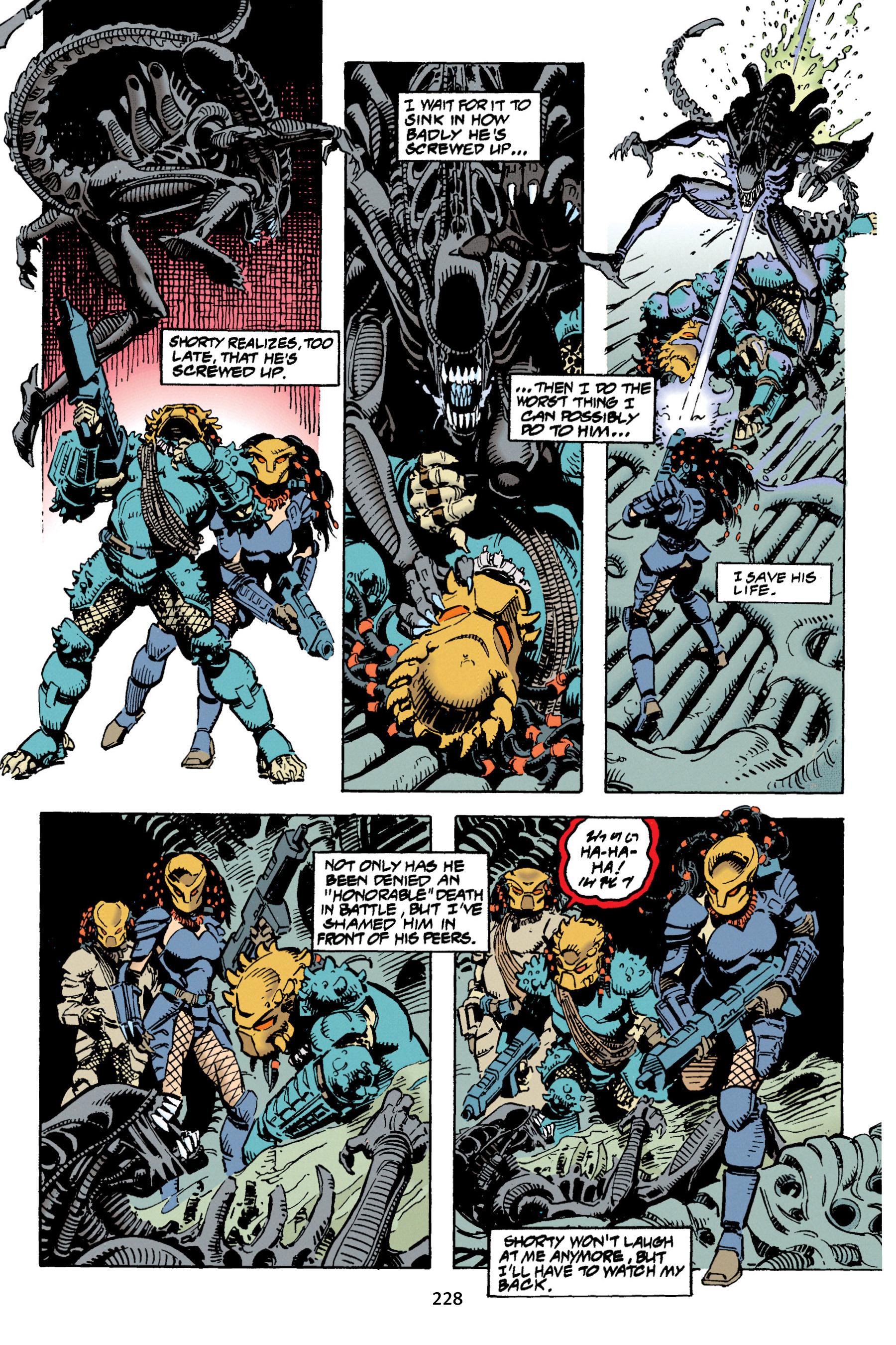 Read online Aliens vs. Predator Omnibus comic -  Issue # _TPB 1 Part 3 - 21