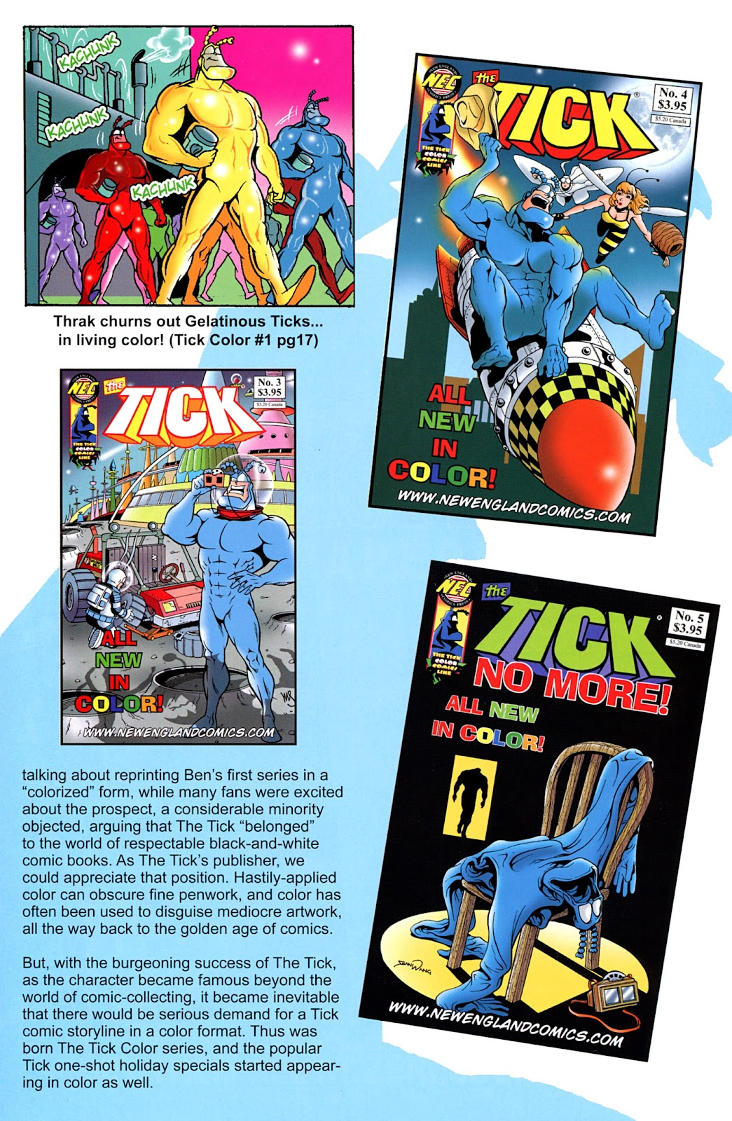 Read online The Tick comic -  Issue #100 - 44