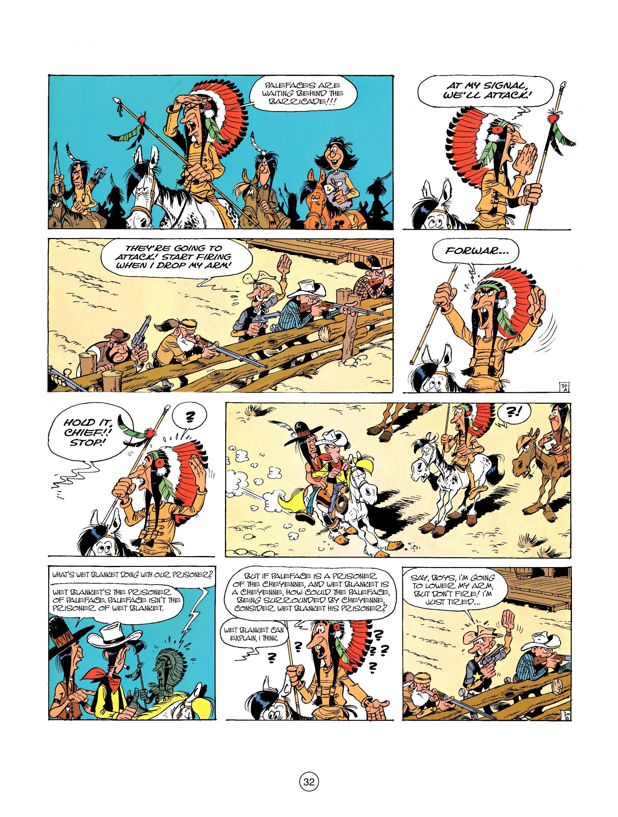 Read online A Lucky Luke Adventure comic -  Issue #26 - 32