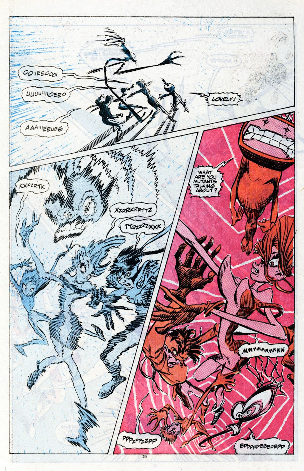 The New Mutants Summer Special issue Full - Page 22