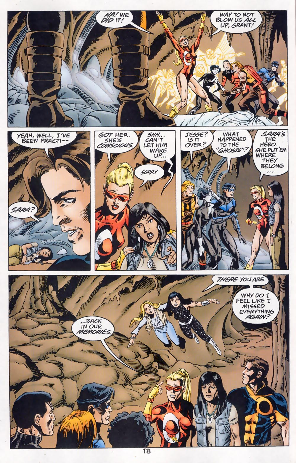 Read online The Titans (1999) comic -  Issue #46 - 19
