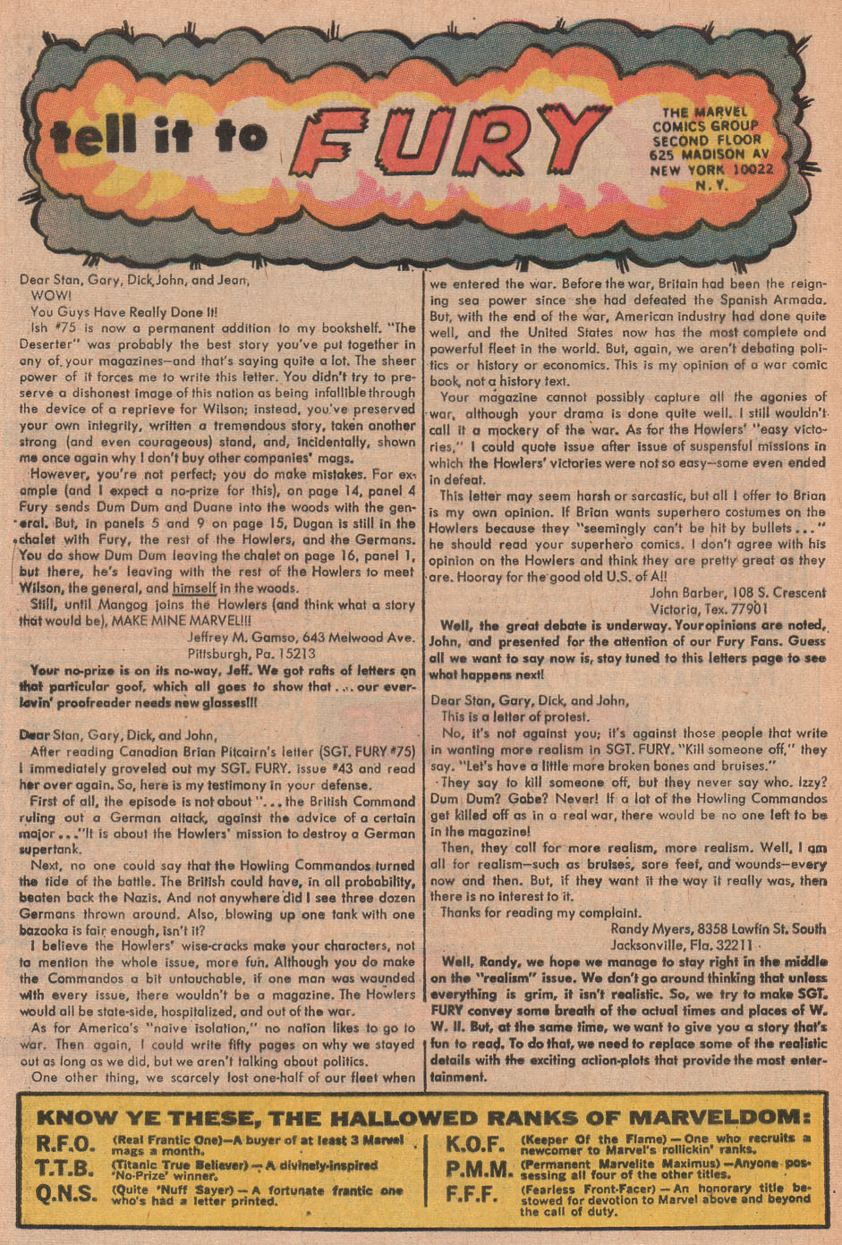 Read online Sgt. Fury comic -  Issue #79 - 32
