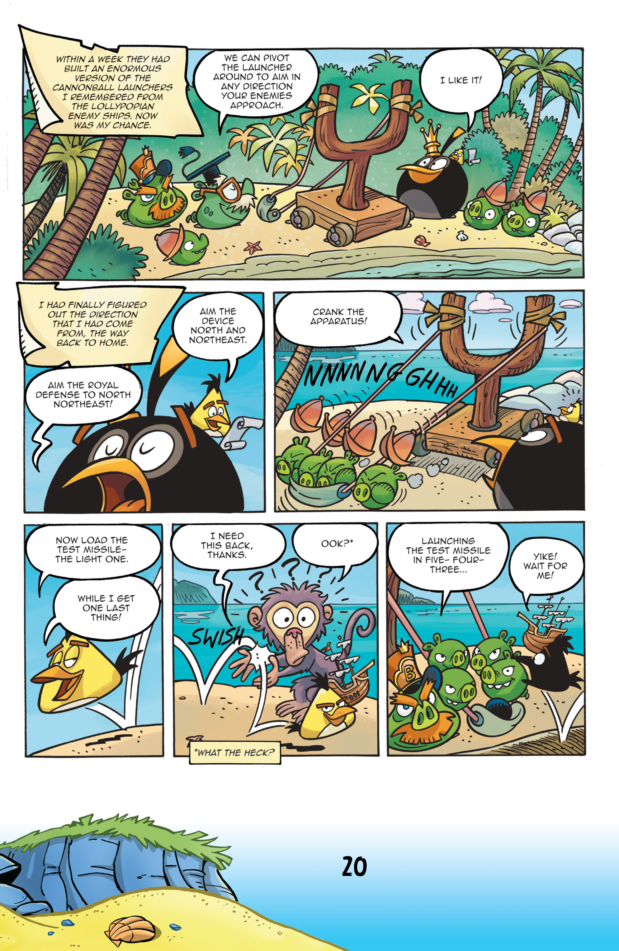 Read online Angry Birds Comics (2016) comic -  Issue #7 - 22