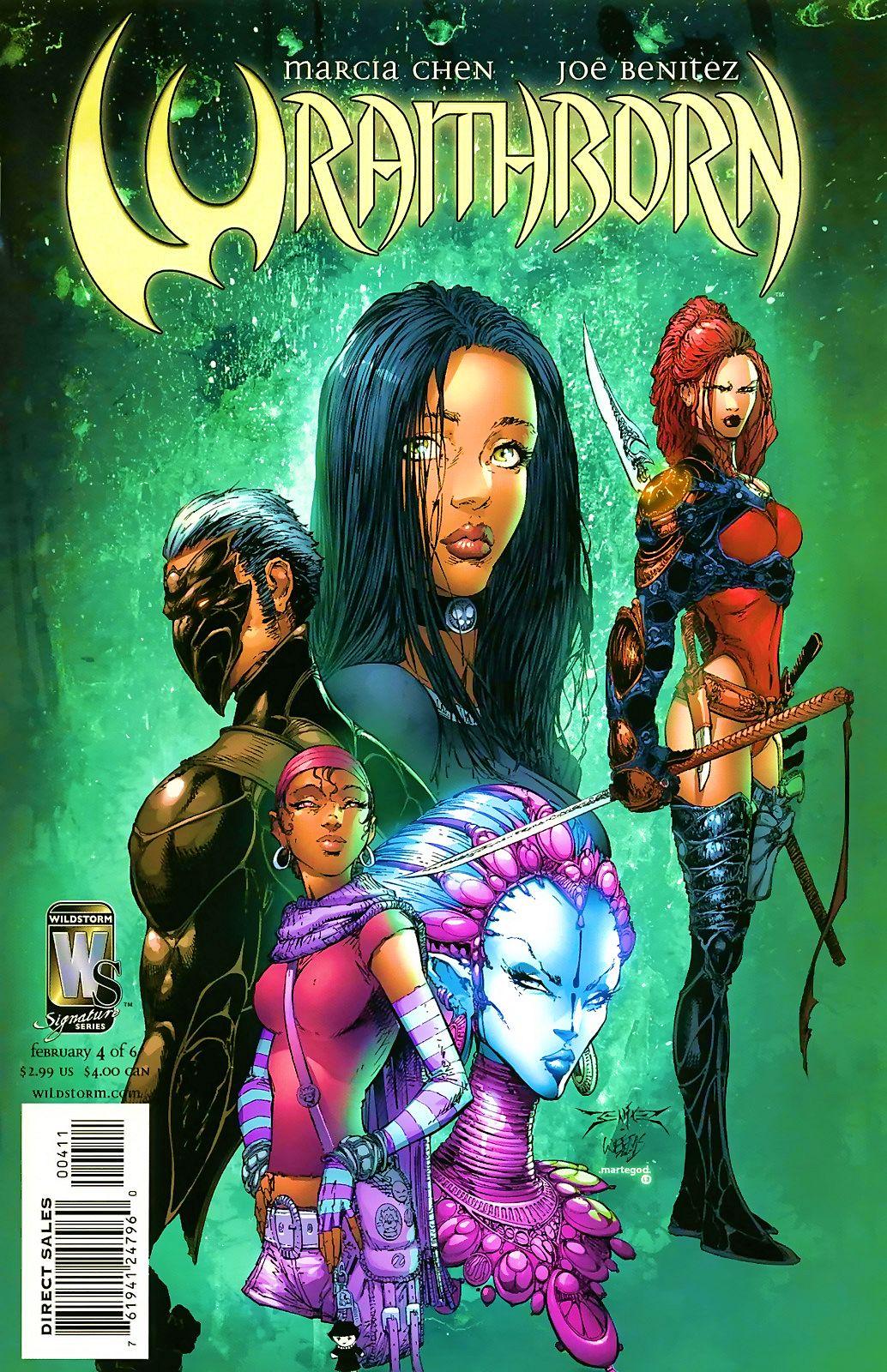 Read online Wraithborn comic -  Issue #4 - 1