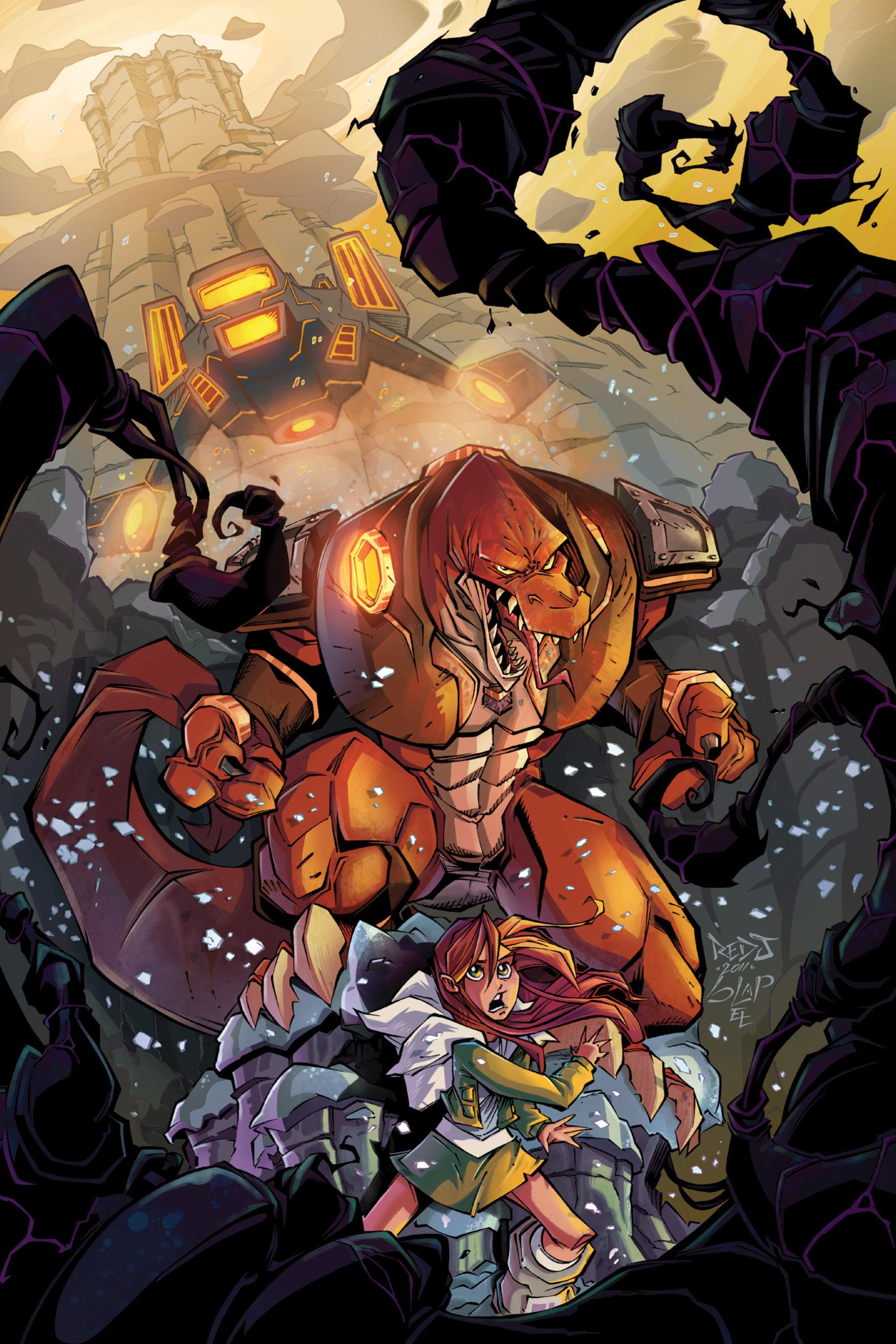Read online Rexodus comic -  Issue # Full - 8