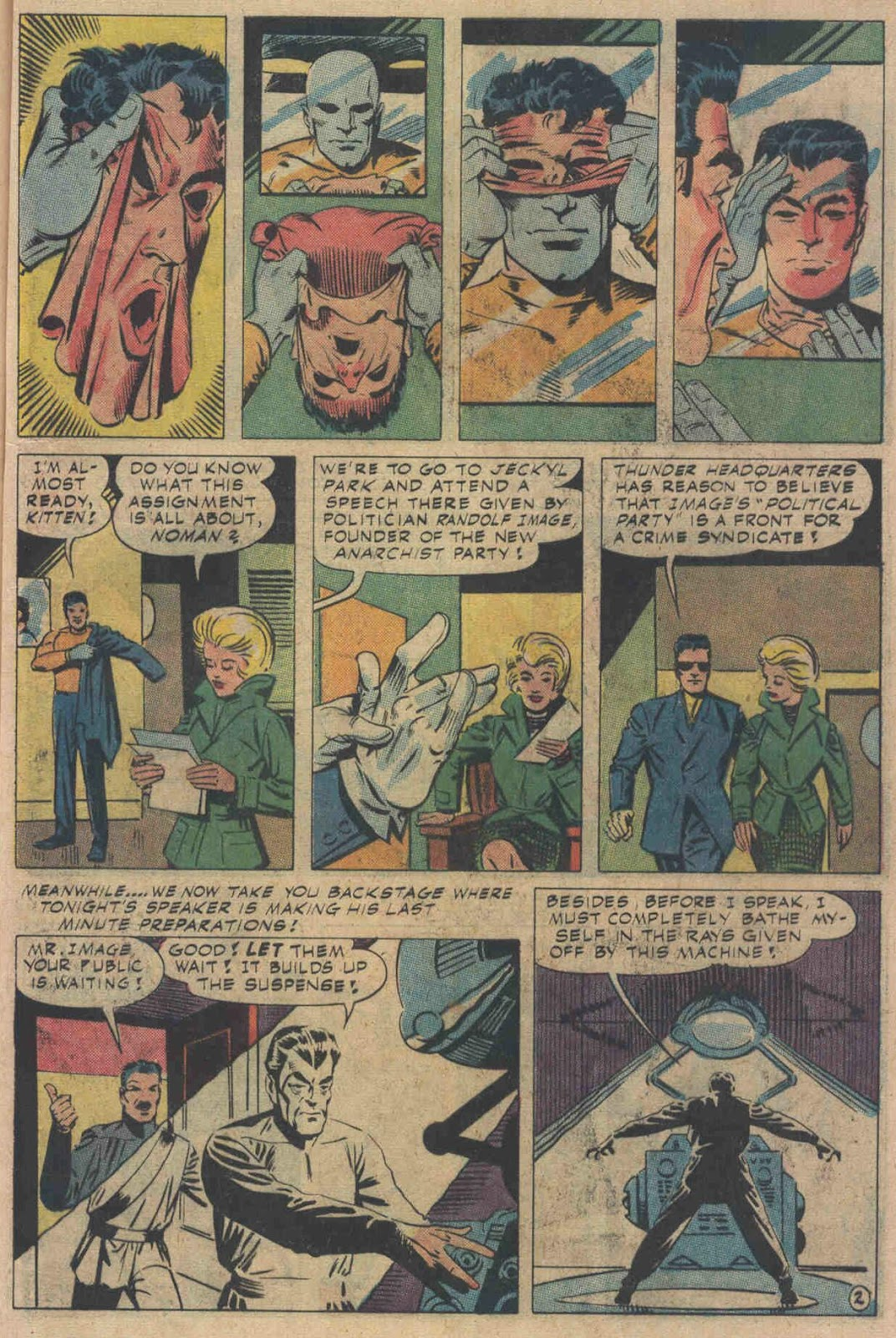 T.H.U.N.D.E.R. Agents (1965) issue 6 - Page 57