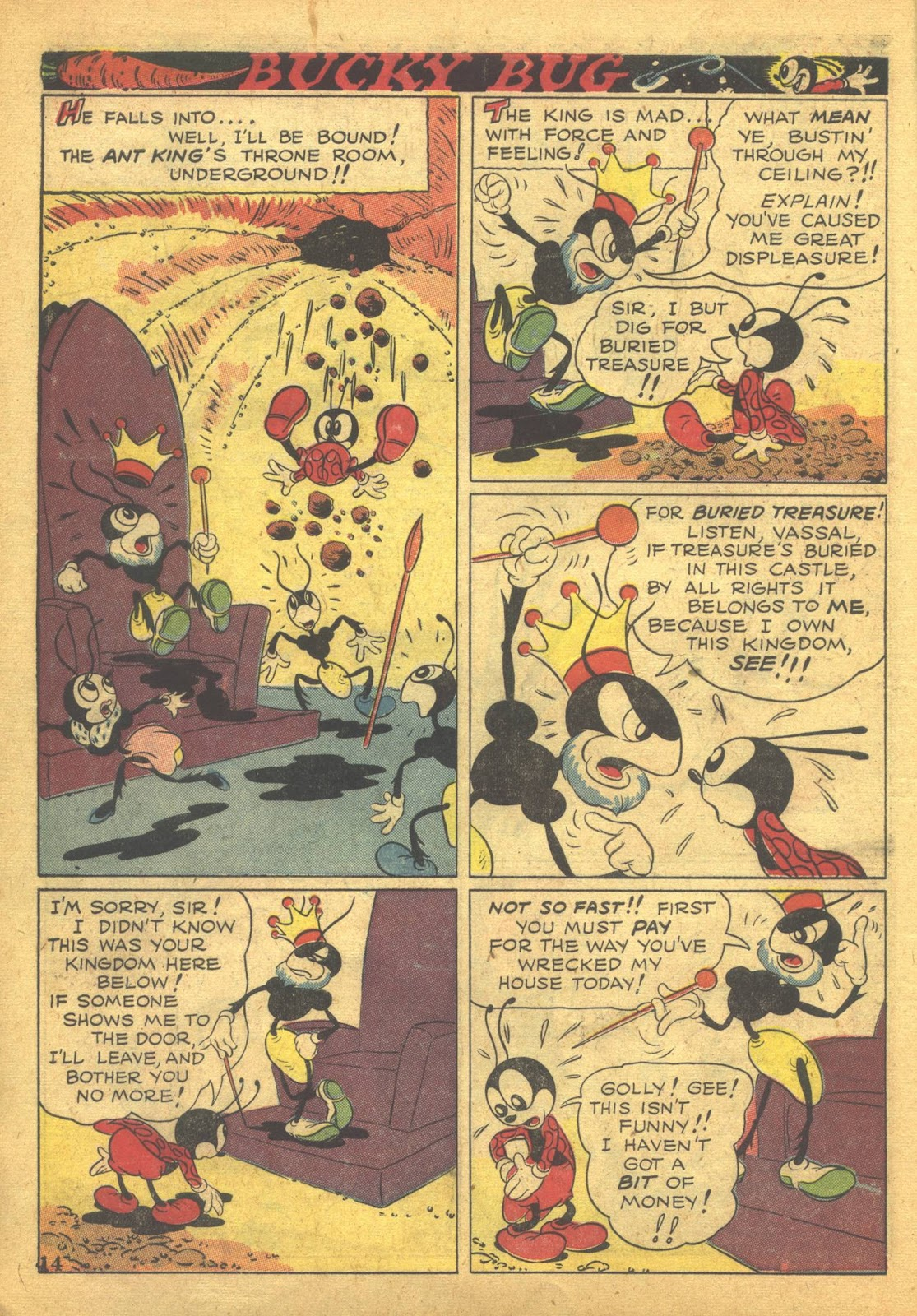 Walt Disney's Comics and Stories issue 41 - Page 16