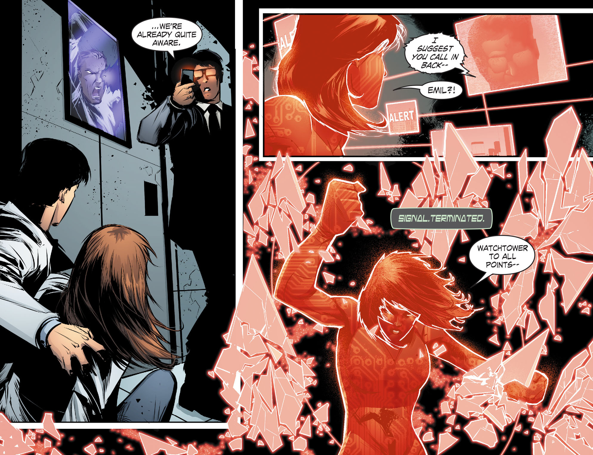 Read online Smallville: Chaos [II] comic -  Issue #4 - 5