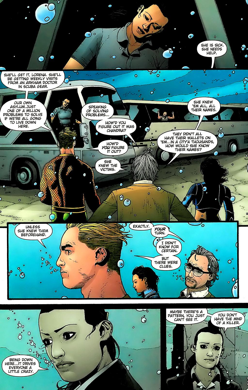 Read online Aquaman (2003) comic -  Issue #31 - 22