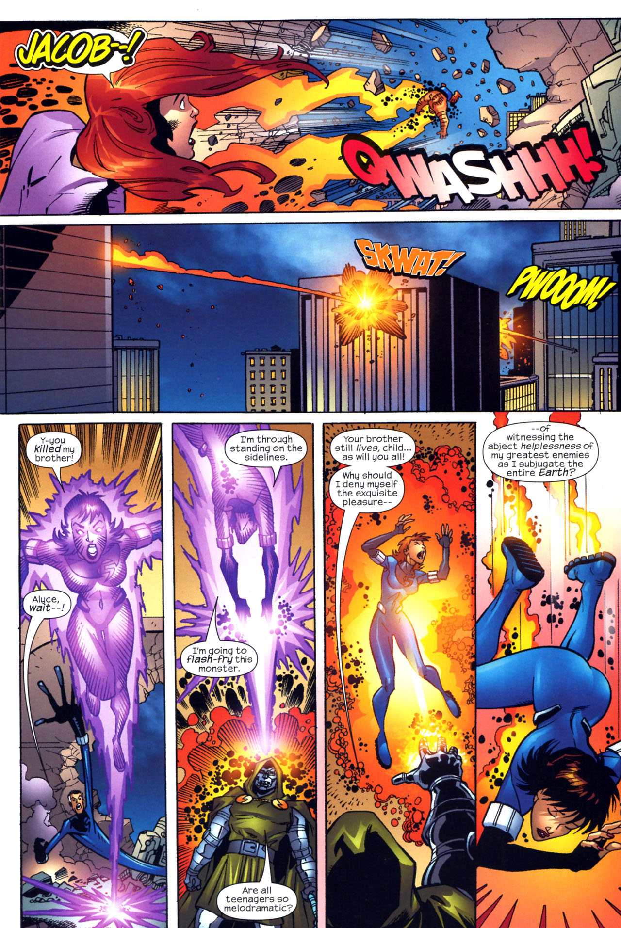 Read online Fantastic Five (2007) comic -  Issue #2 - 10
