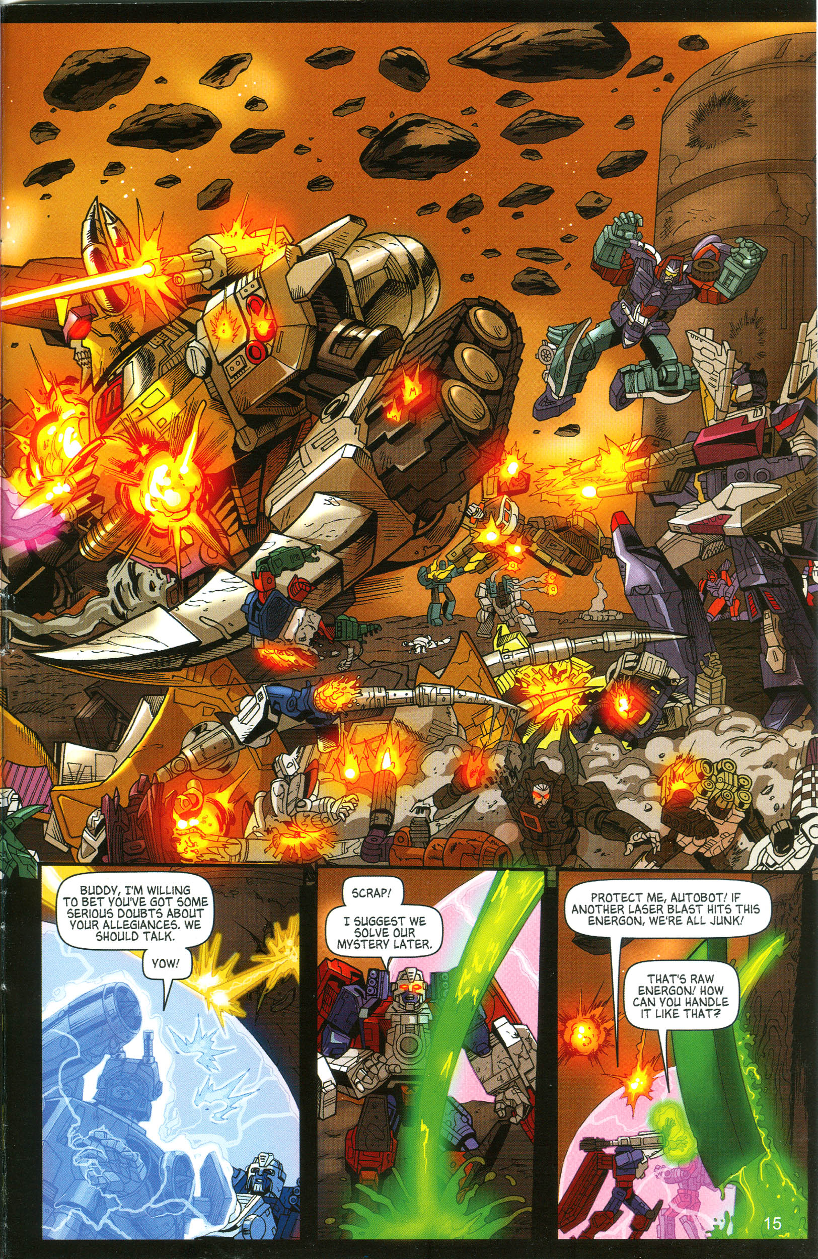Read online Transformers: Collectors' Club comic -  Issue #11 - 15
