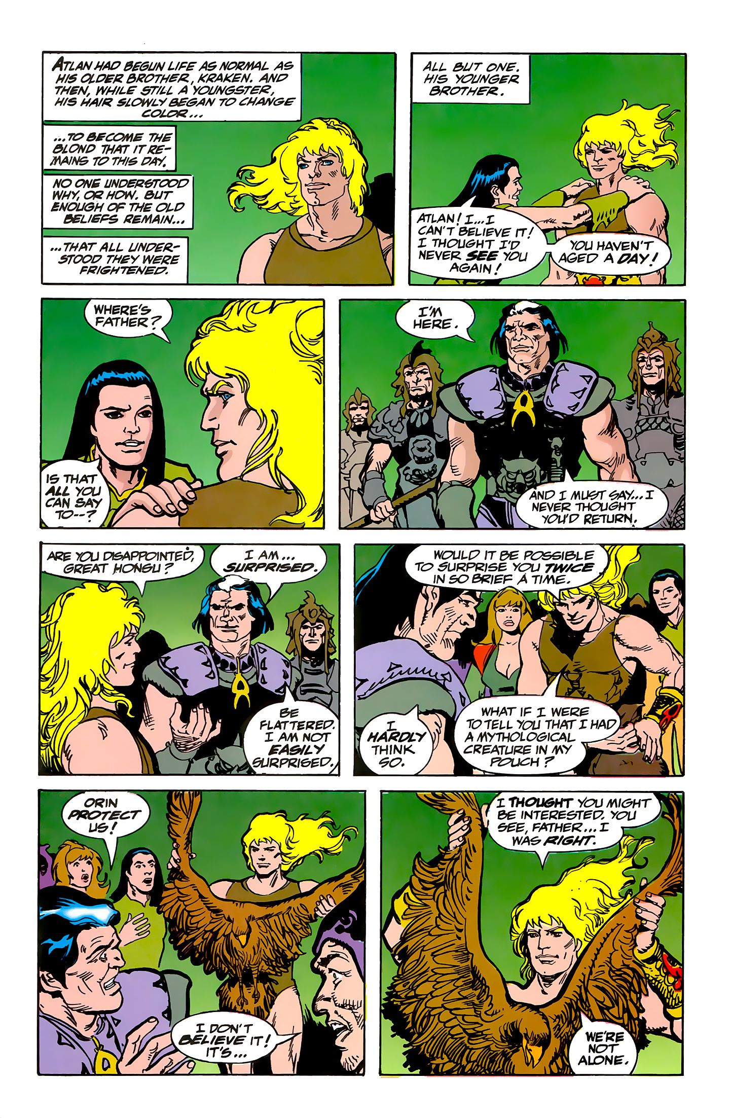 Read online Atlantis Chronicles comic -  Issue #5 - 45